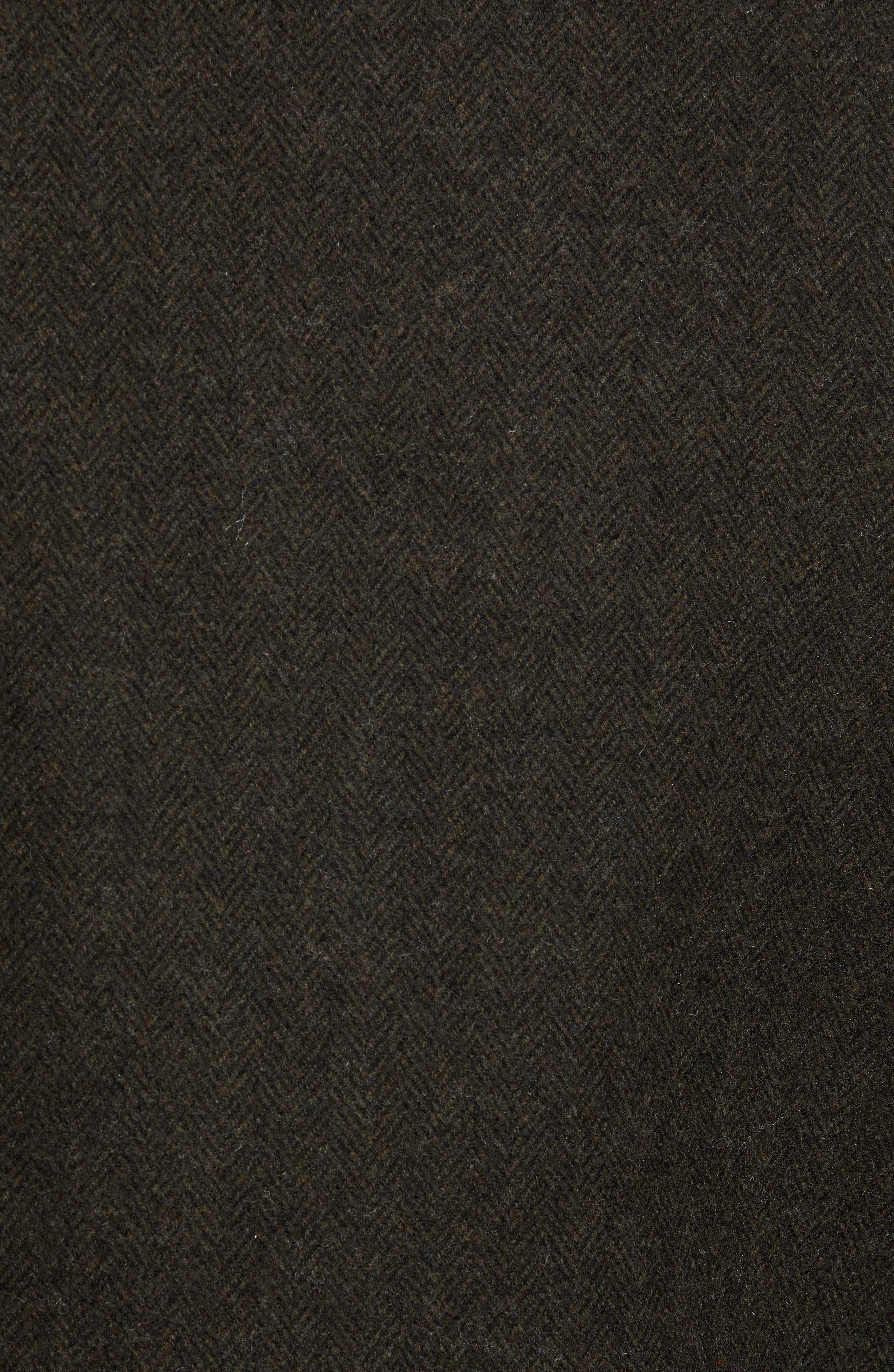 COLE HAAN SIGNATURE,                             Faux Shearling Trim Field Jacket,                             Alternate thumbnail 7, color,                             317