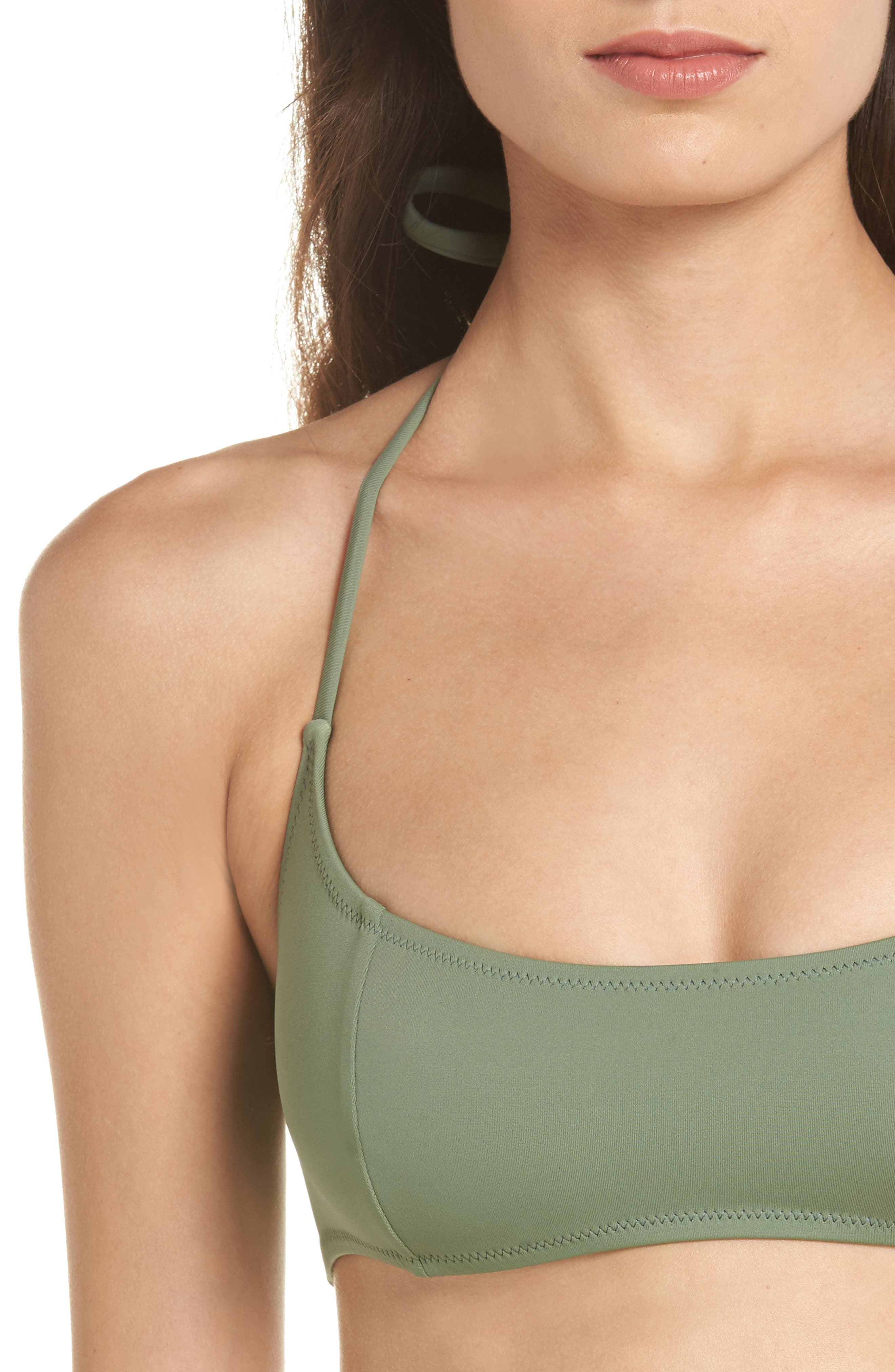 The Jessica Halter Bikini Top,                             Alternate thumbnail 4, color,