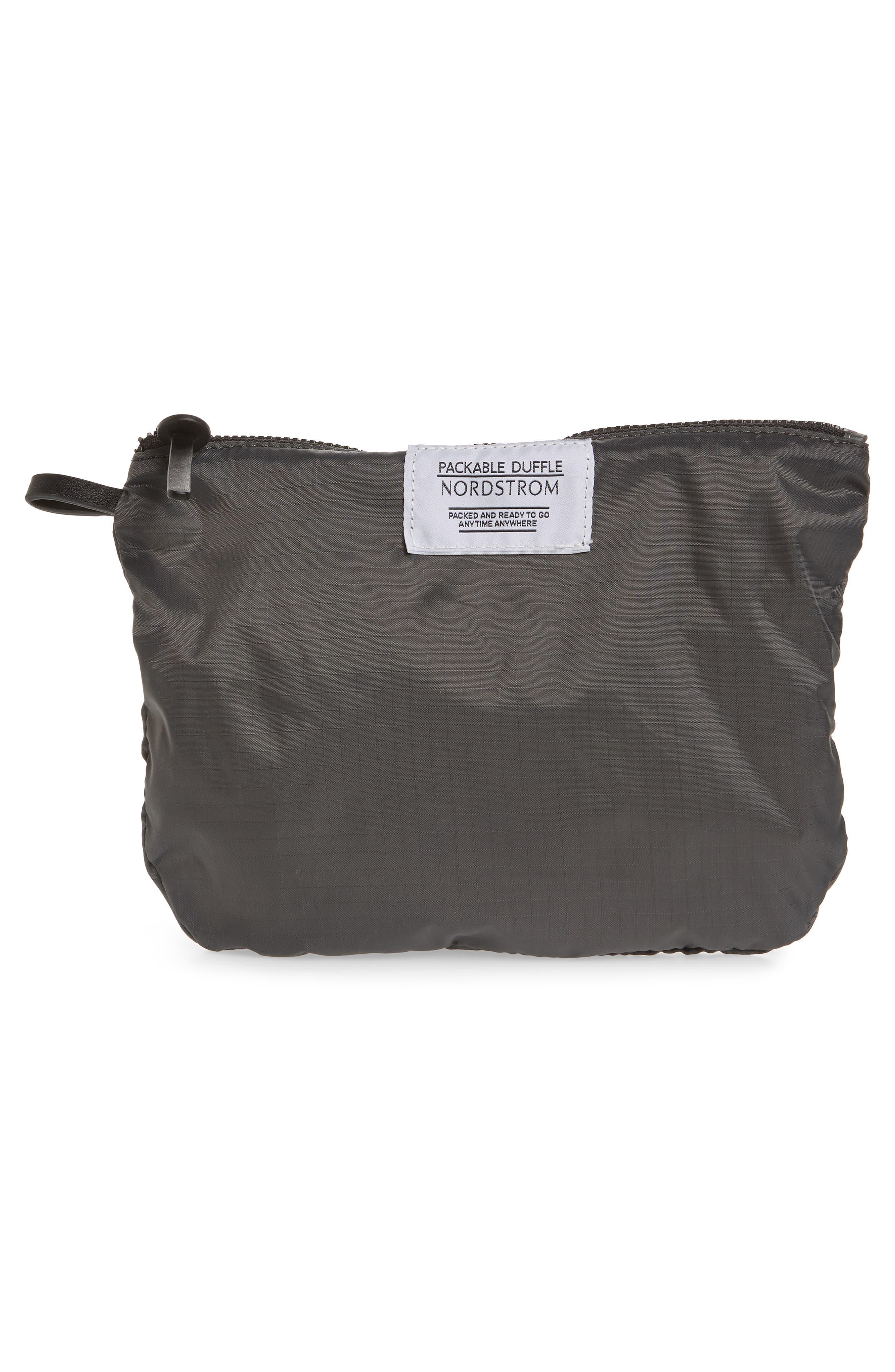 Packable Nylon Duffel Bag,                             Alternate thumbnail 20, color,