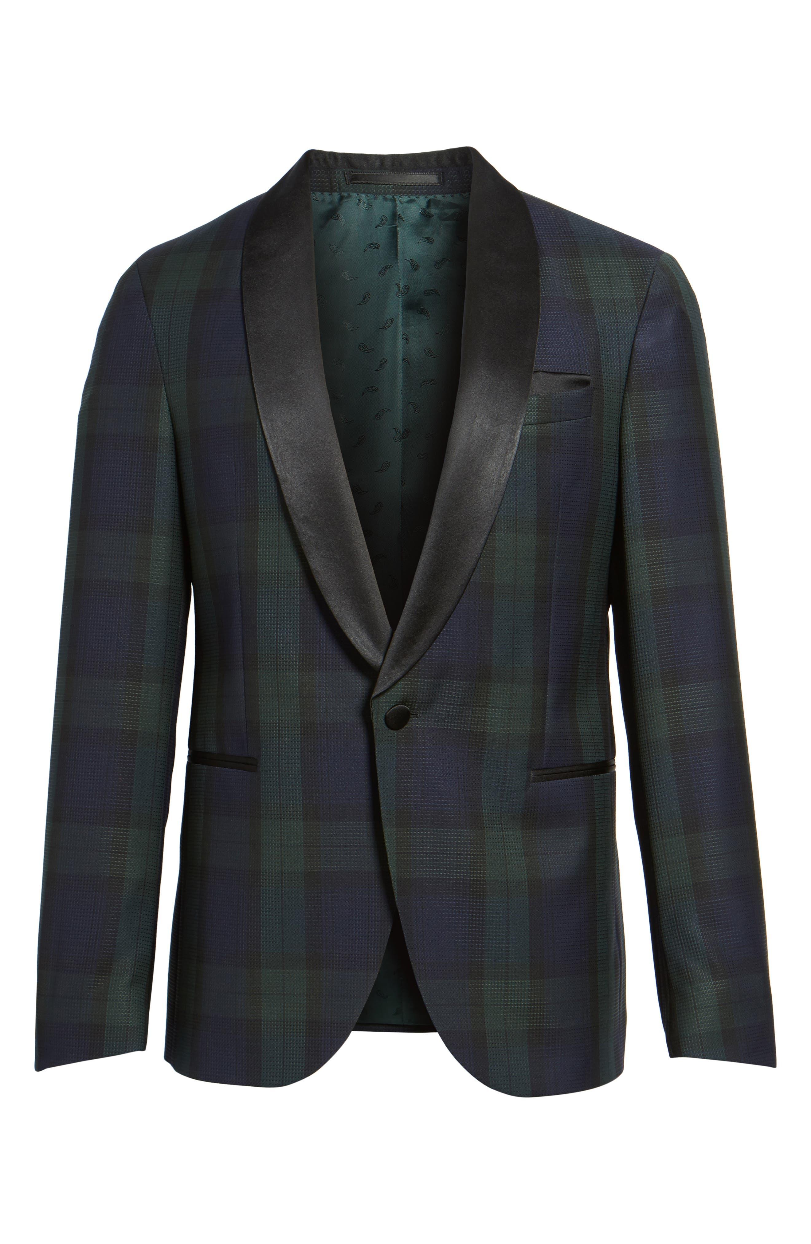 Nemir Classic Fit Wool Dinner Jacket,                             Alternate thumbnail 5, color,