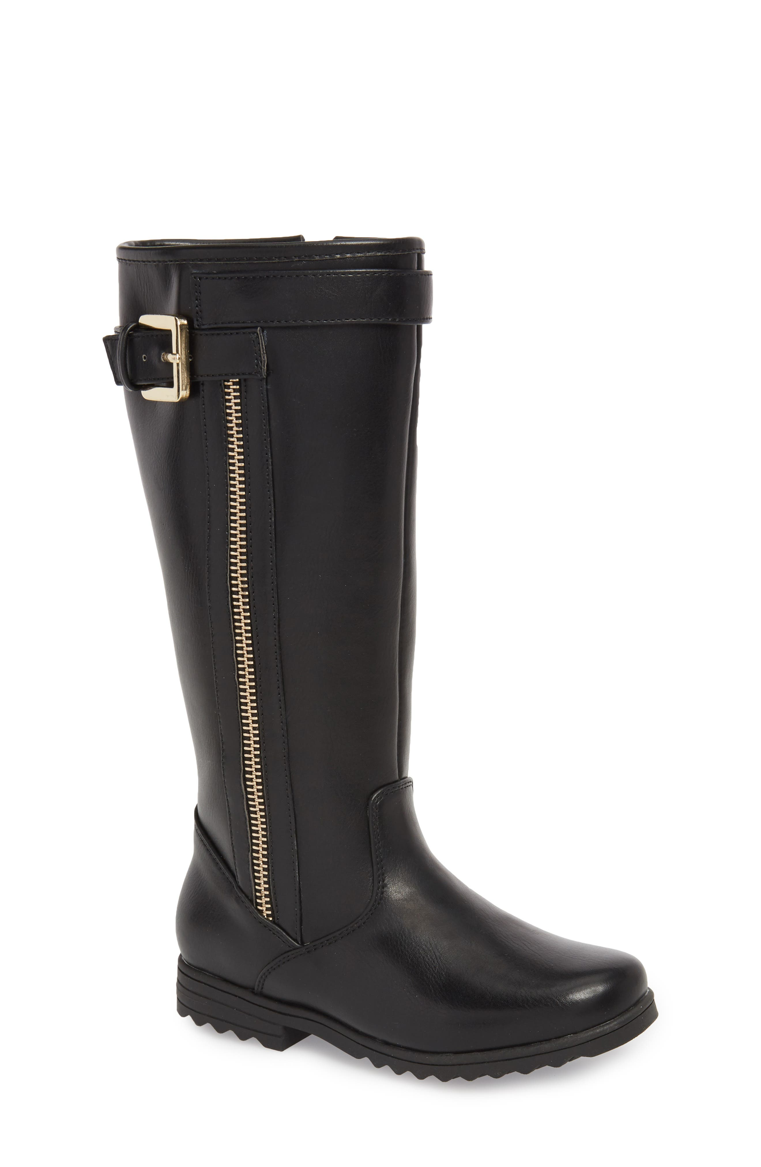 Emily Tall Boot,                         Main,                         color, 001