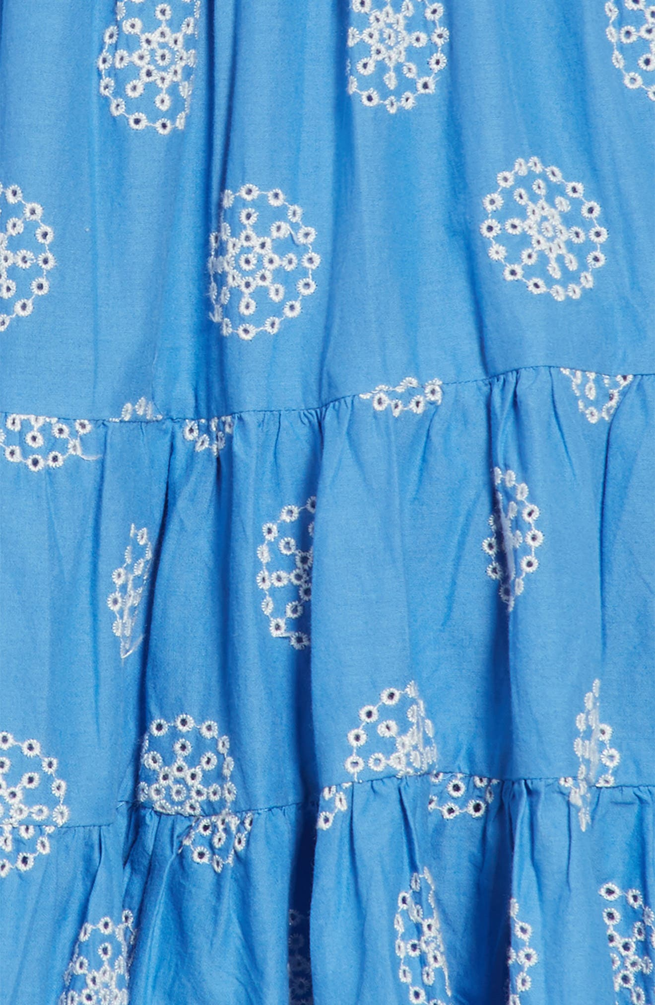 Twirly Tiered Dress,                             Alternate thumbnail 3, color,                             424