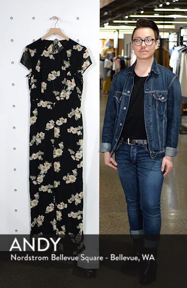 Rina Floral Jumpsuit, sales video thumbnail