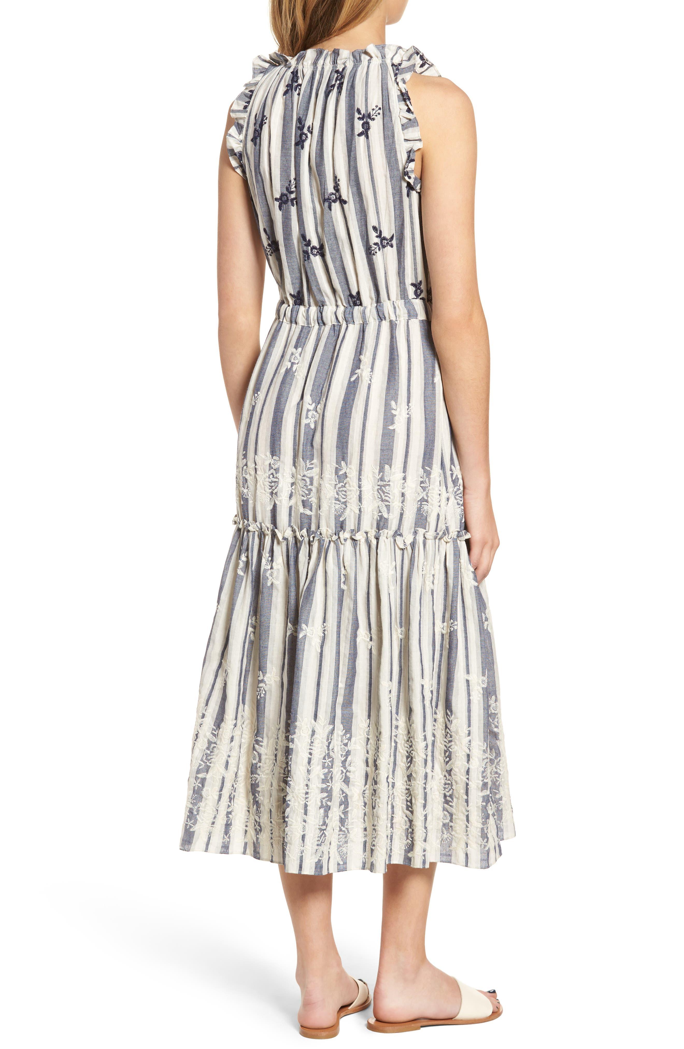 Martina Midi Dress,                             Alternate thumbnail 2, color,                             192