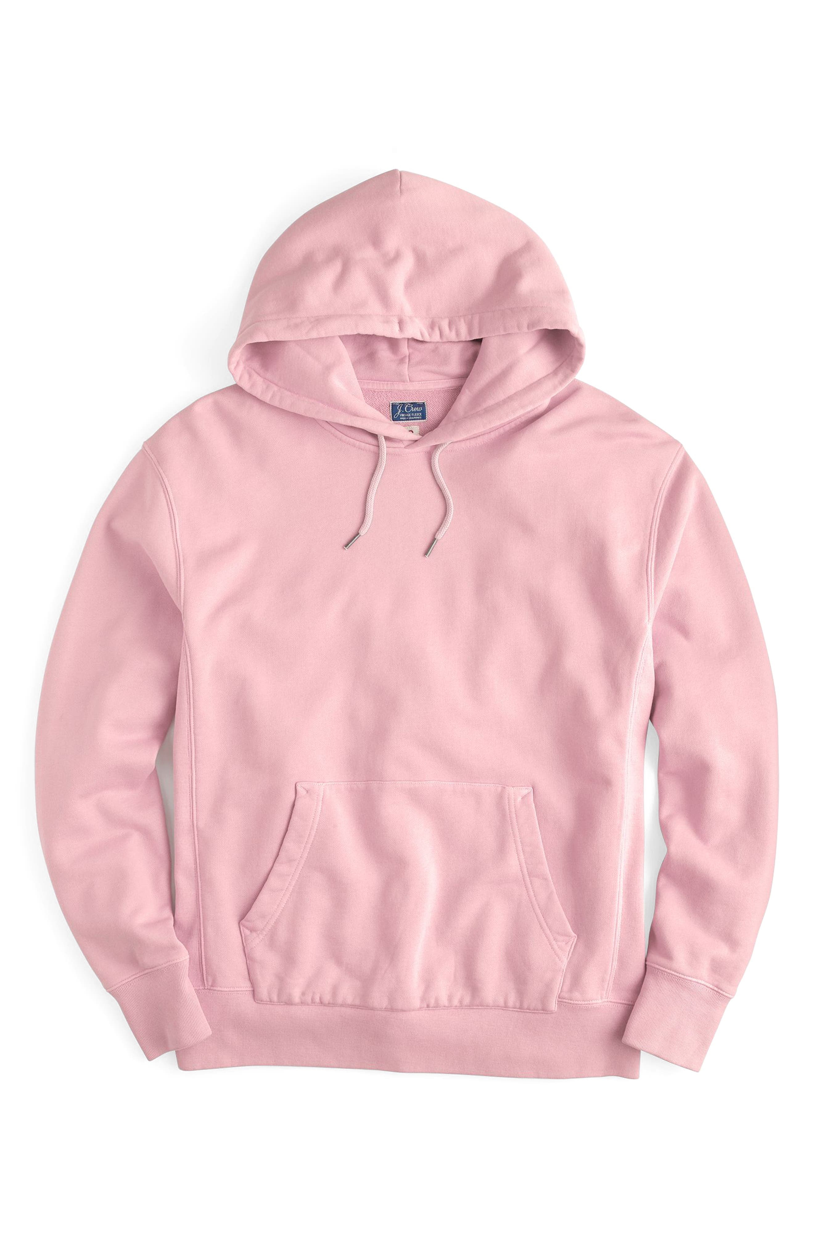 Garment Dyed French Terry Hoodie,                             Main thumbnail 5, color,