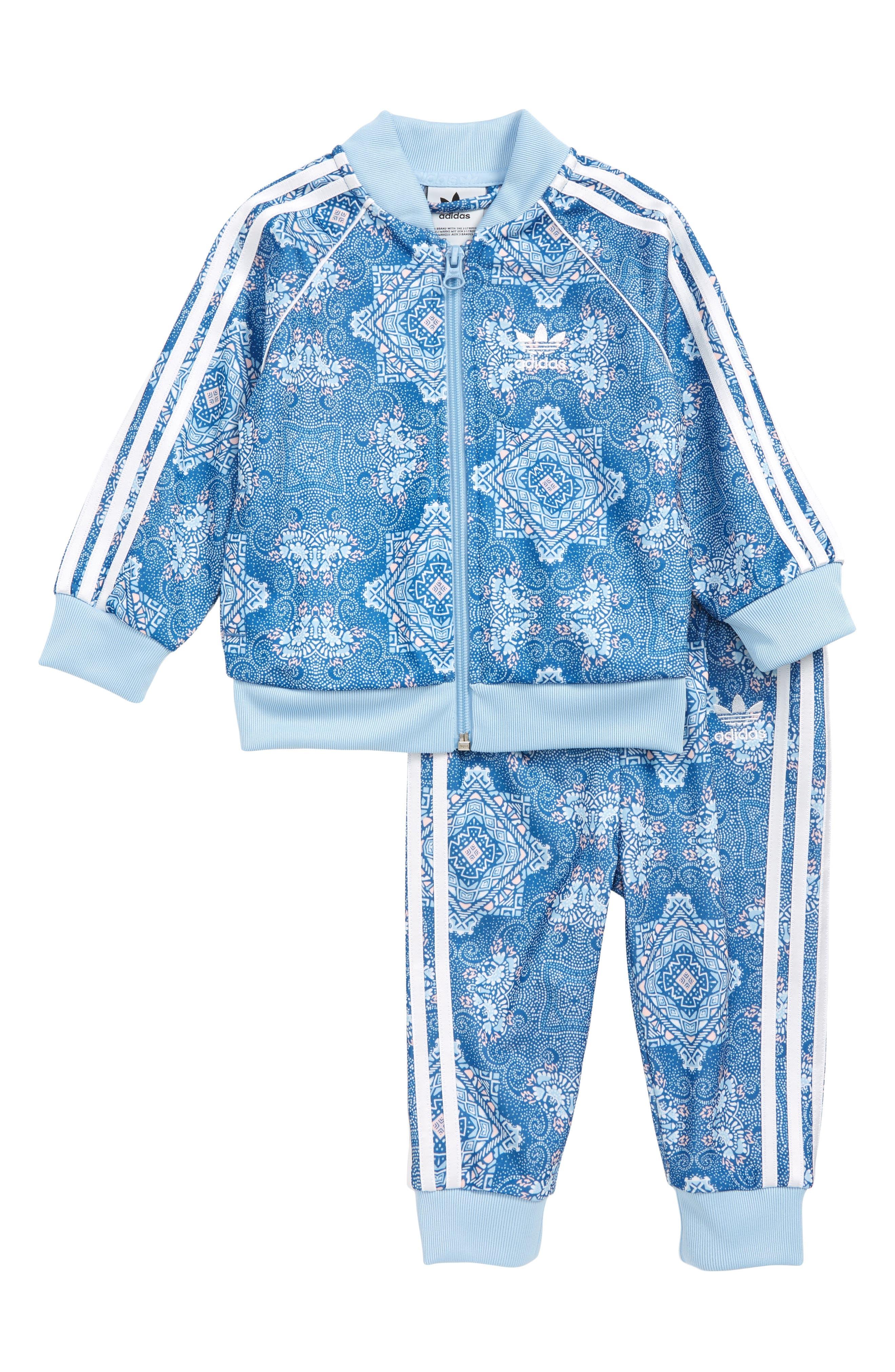 Infant Girls Adidas Track Jacket  Sweatpants Set