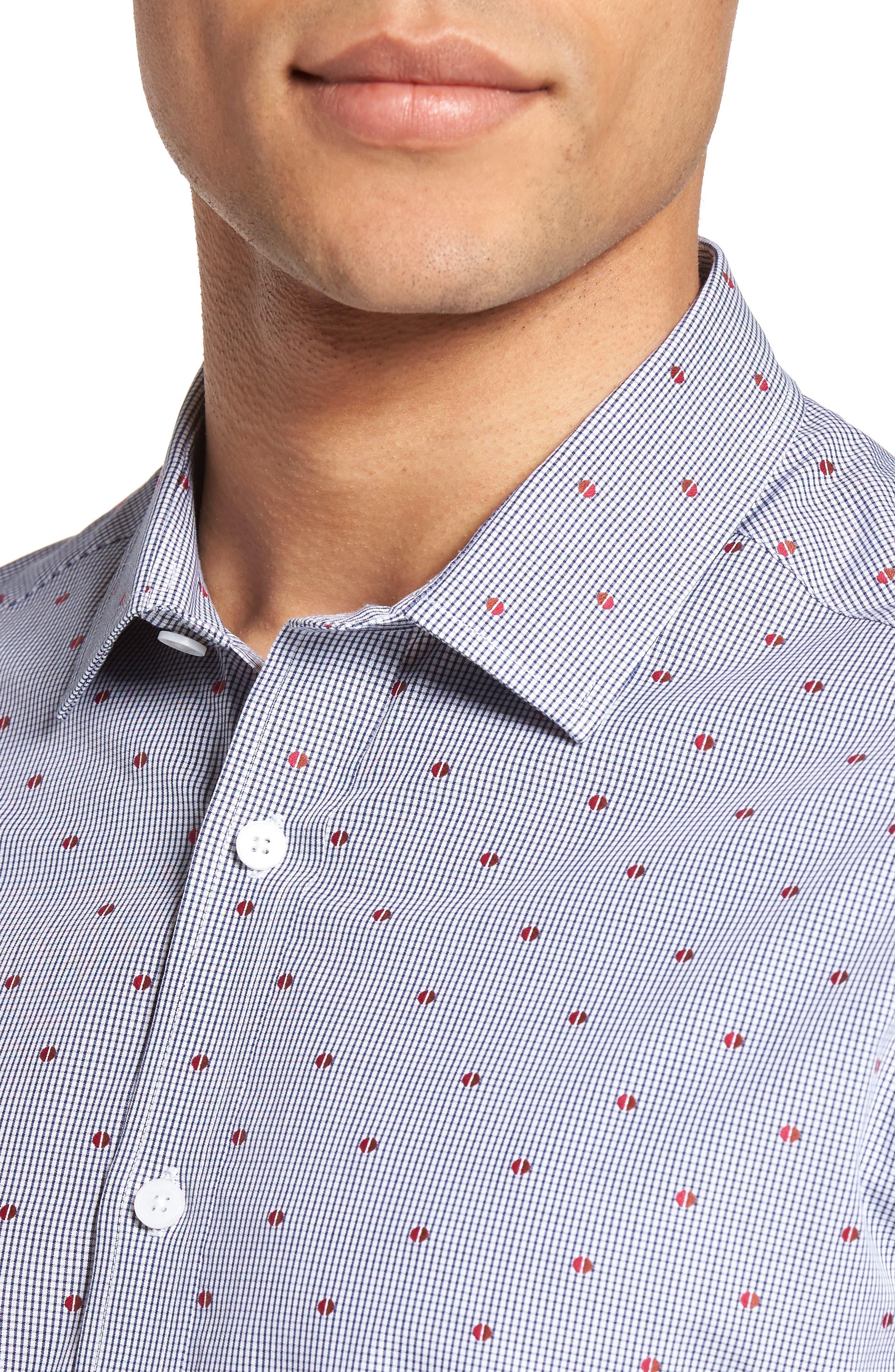 Short Sleeve Sport Shirt,                             Alternate thumbnail 5, color,                             230