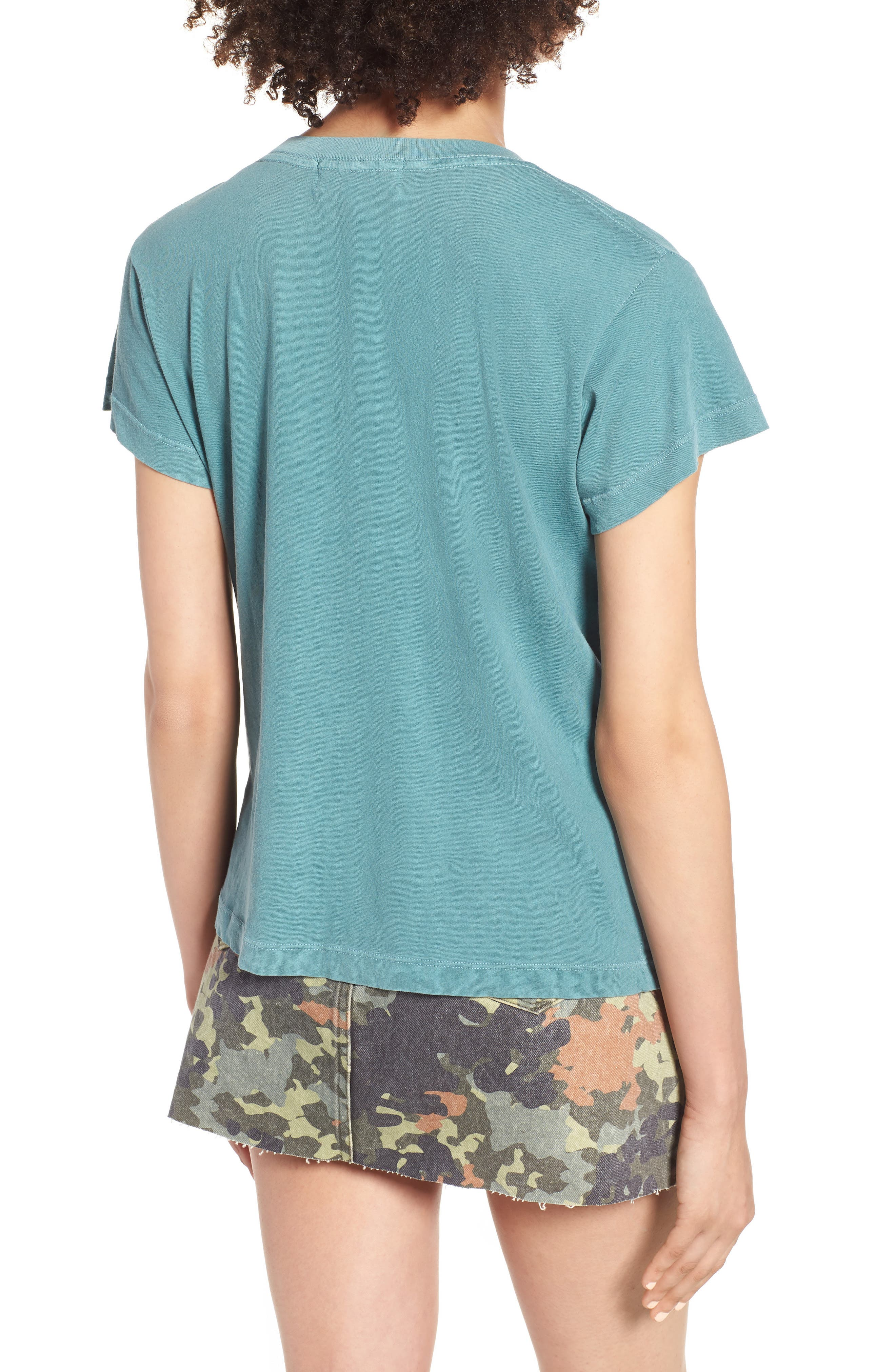 St. Barts Tee,                             Alternate thumbnail 2, color,                             PIGMENT GREEN TROPICS