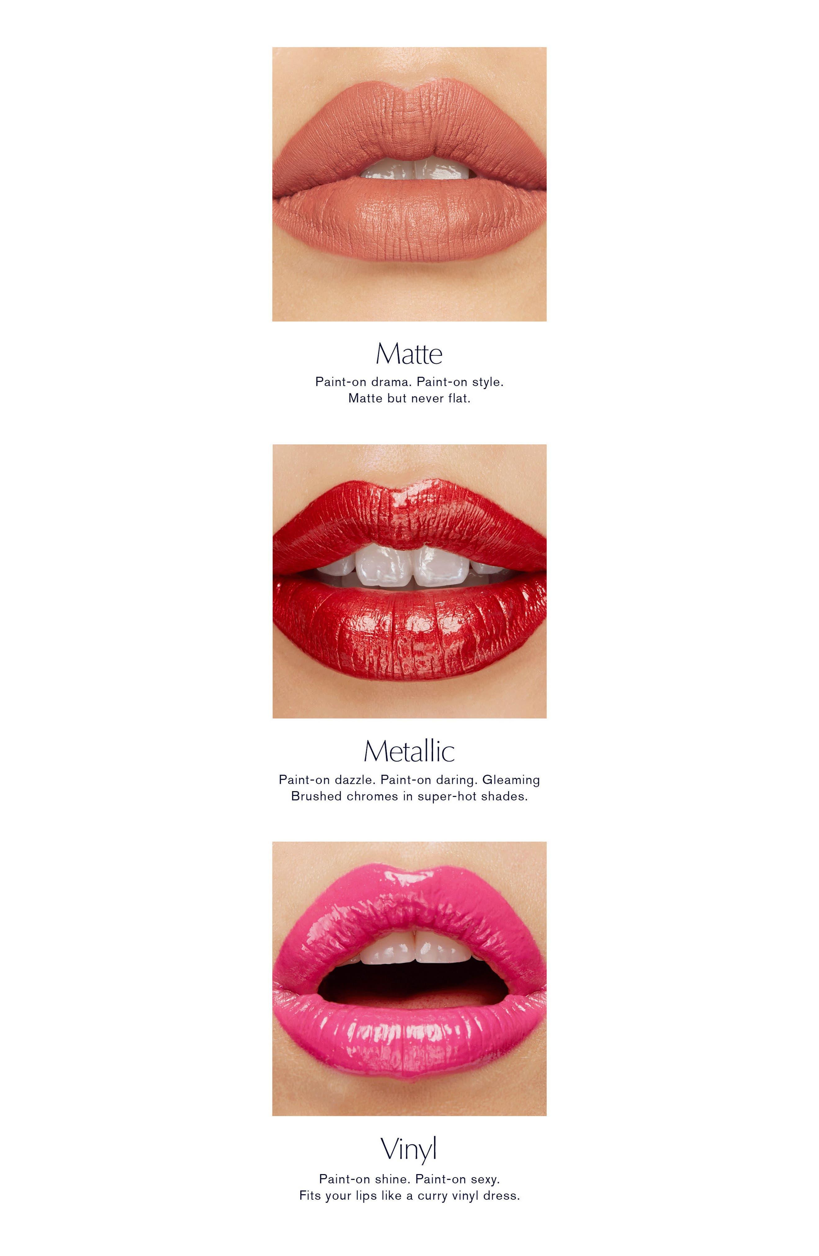 Pure Color Envy Paint On Liquid Lipcolor,                             Alternate thumbnail 2, color,                             SMASH UP - MATTE