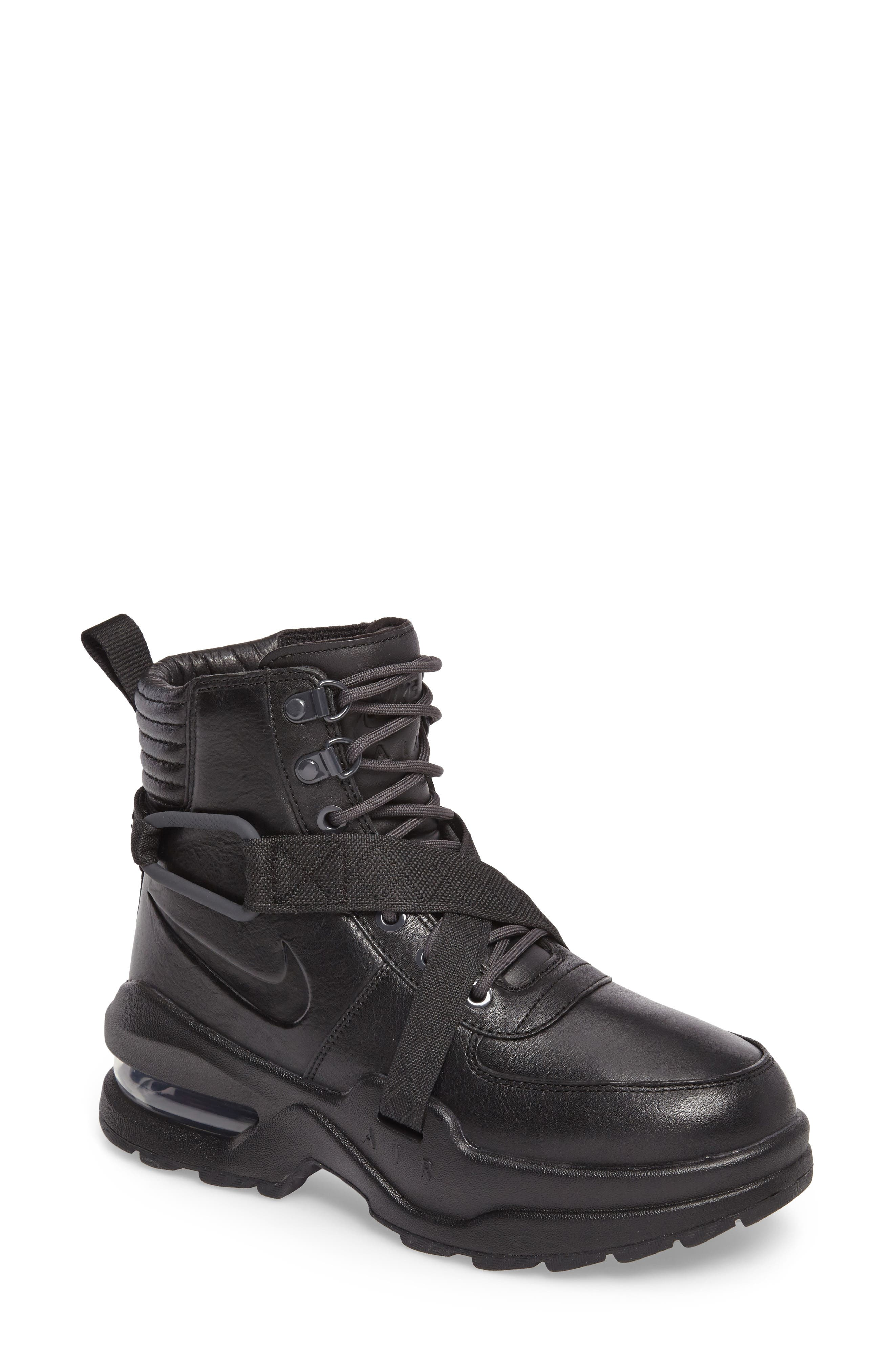 Air Max Goadome Sneaker Boot,                             Main thumbnail 1, color,                             BLACK/ ANTHRACITE/ BLACK