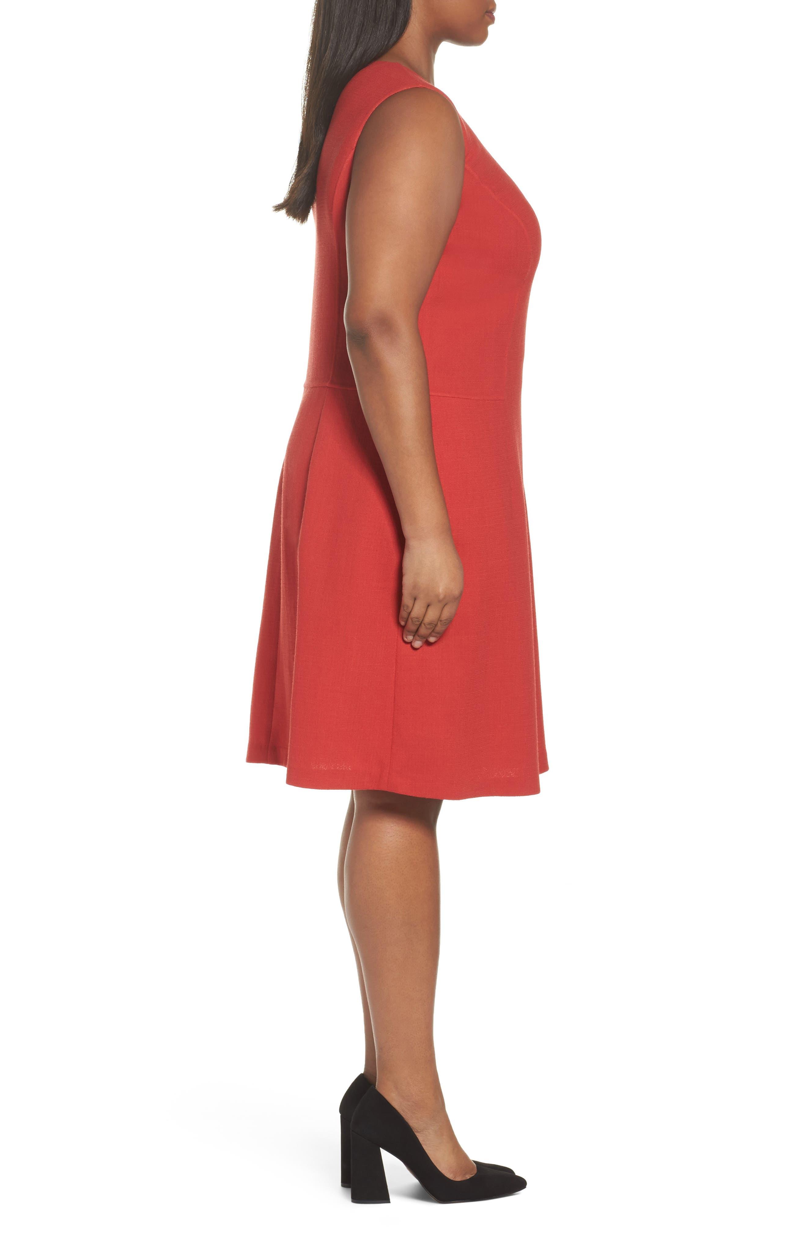 Selita Nouveau Crepe Dress,                             Alternate thumbnail 3, color,                             892