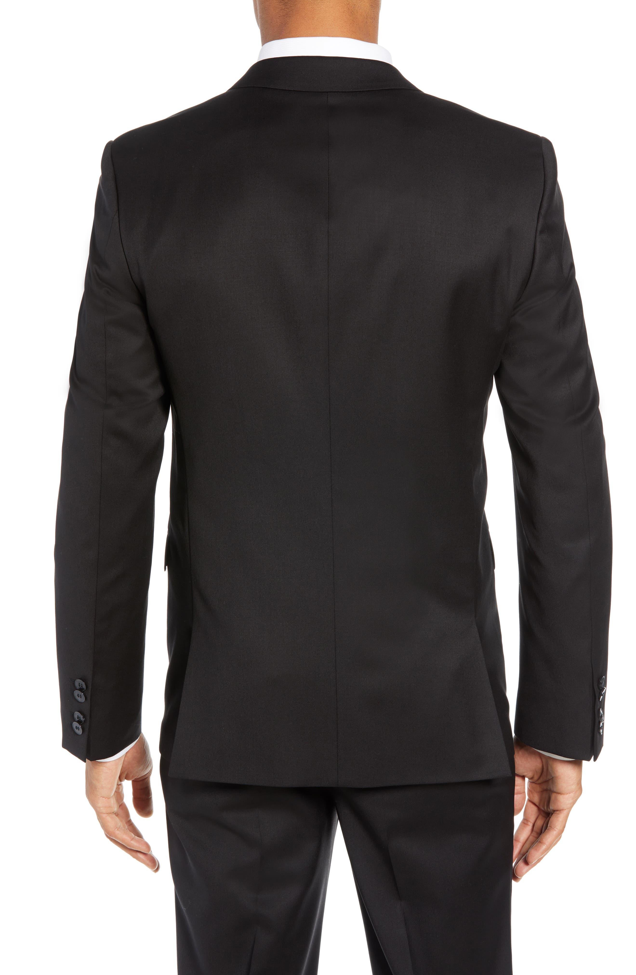 Aldon Extra Slim Fit Blazer,                             Alternate thumbnail 2, color,                             BLACK