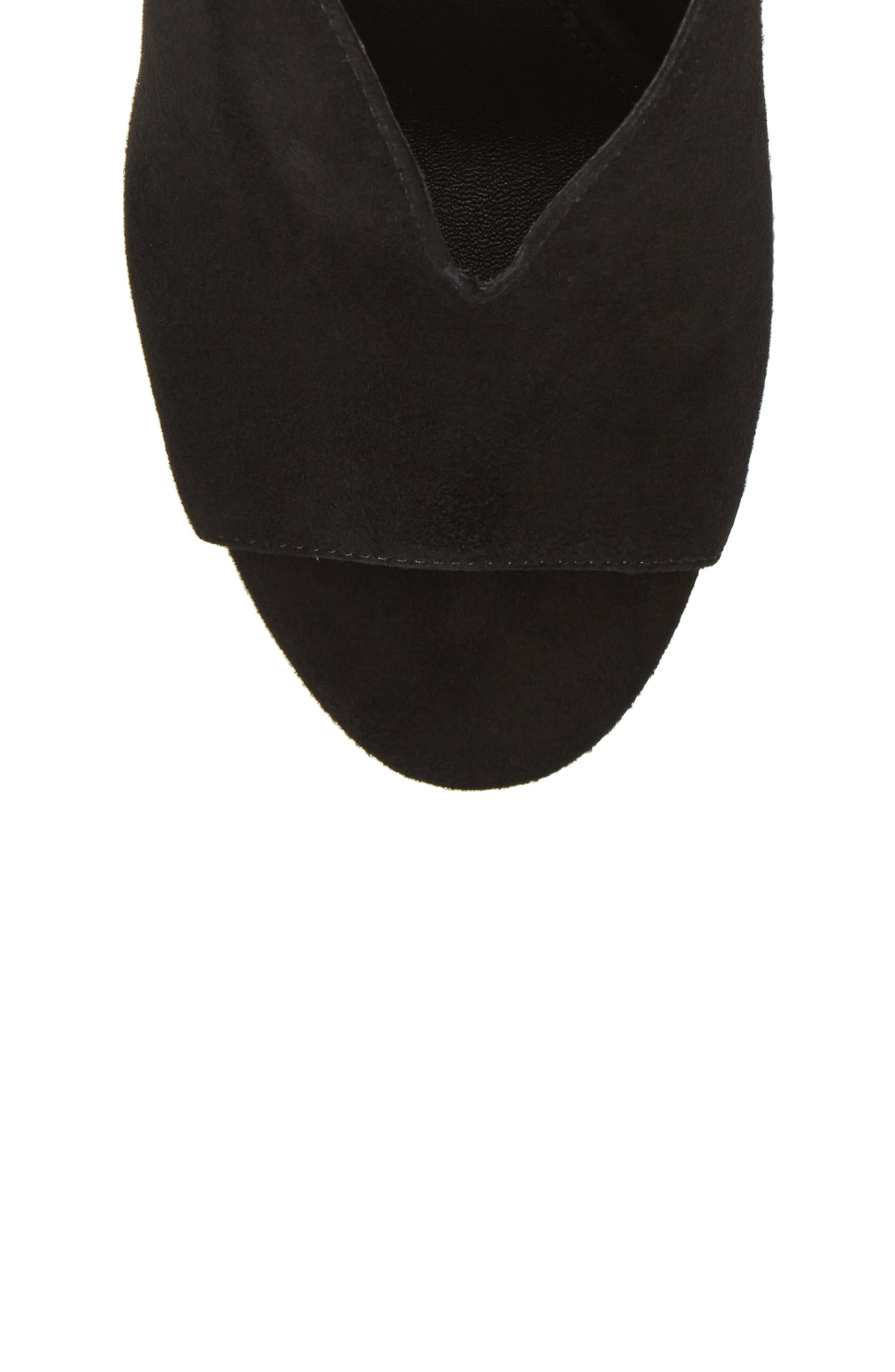 Madra Slingback Sandal,                             Alternate thumbnail 5, color,                             001