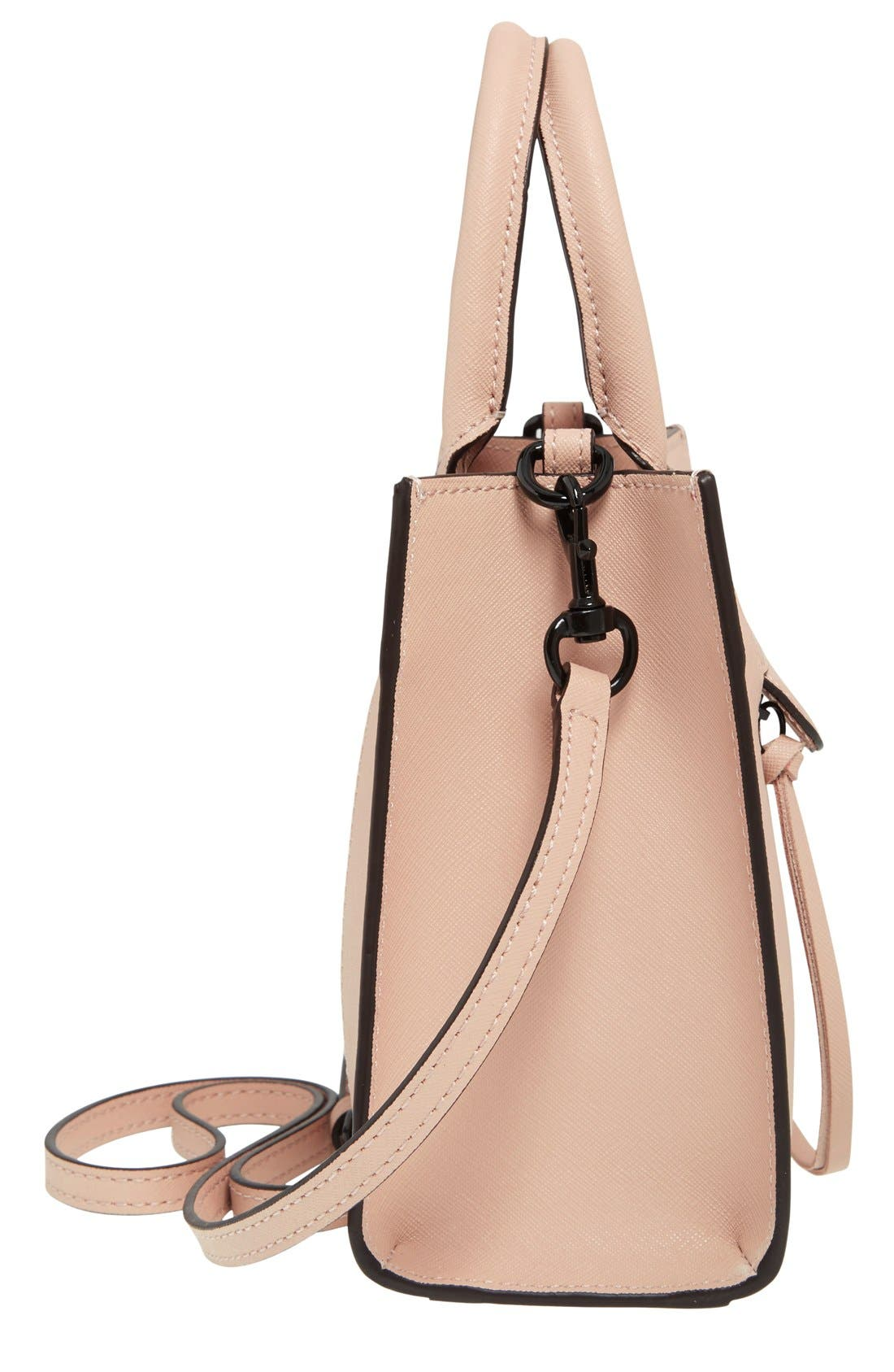 'Mini MAB Tote' Crossbody Bag,                             Alternate thumbnail 106, color,