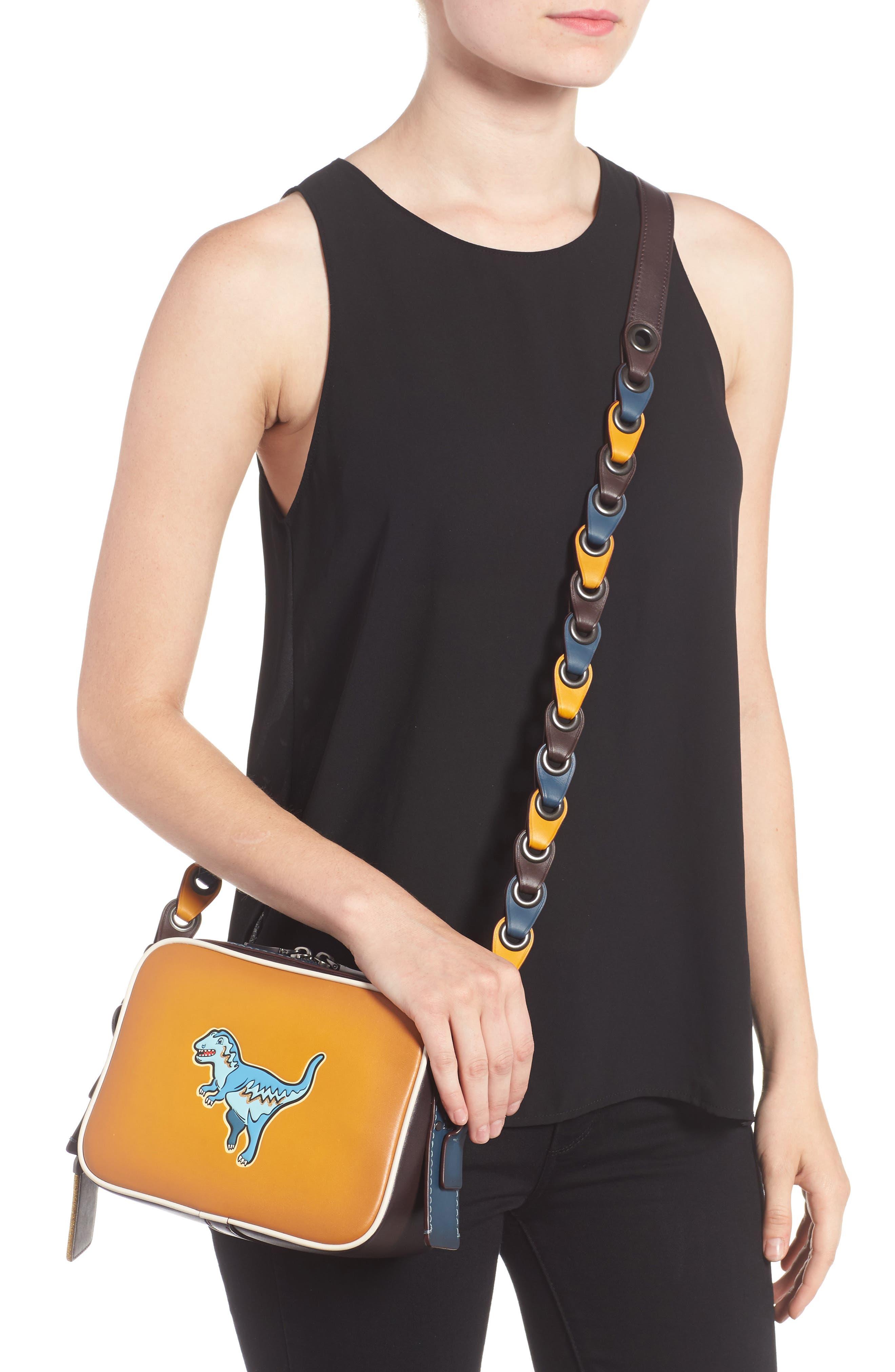 Rexy Leather Crossbody Bag,                             Alternate thumbnail 2, color,                             720