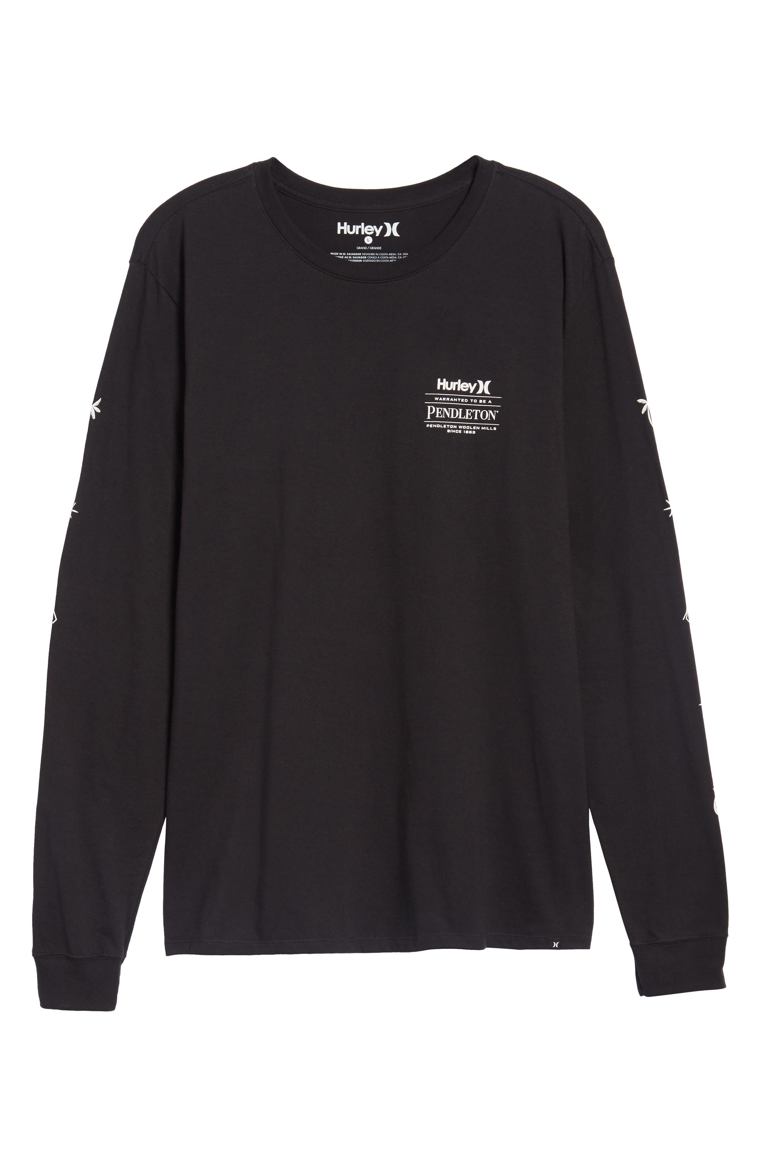 x Pendleton Long Sleeve T-Shirt,                             Alternate thumbnail 6, color,                             010