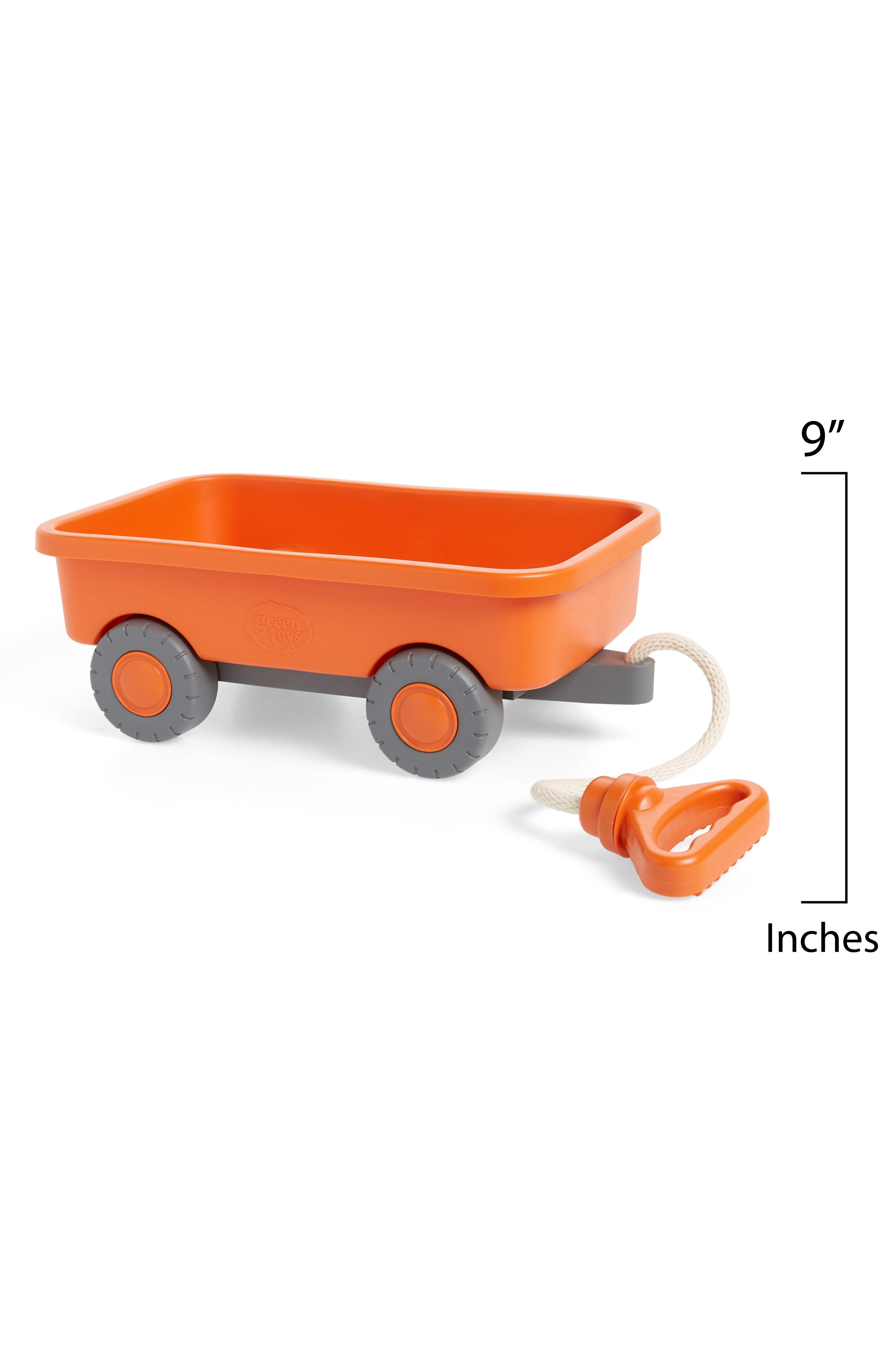 Orange Recycled Plastic Wagon,                             Alternate thumbnail 2, color,                             800