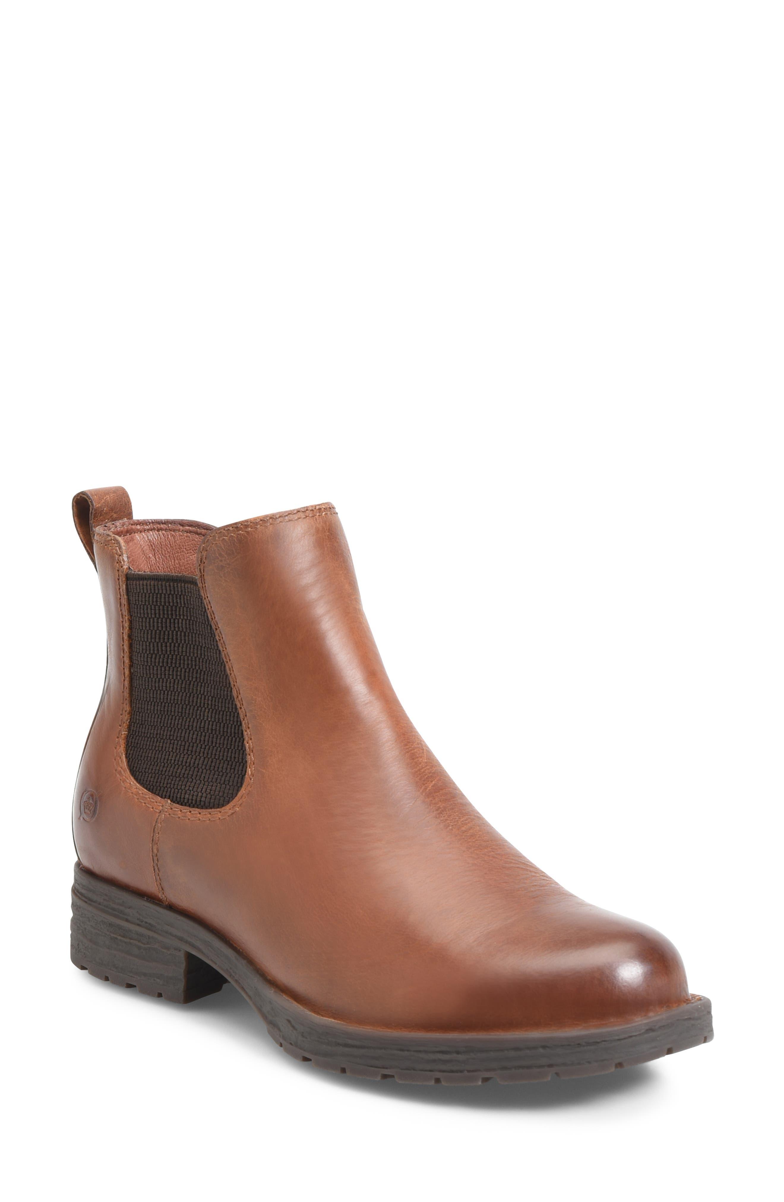 B?rn Cove Waterproof Chelsea Boot- Brown