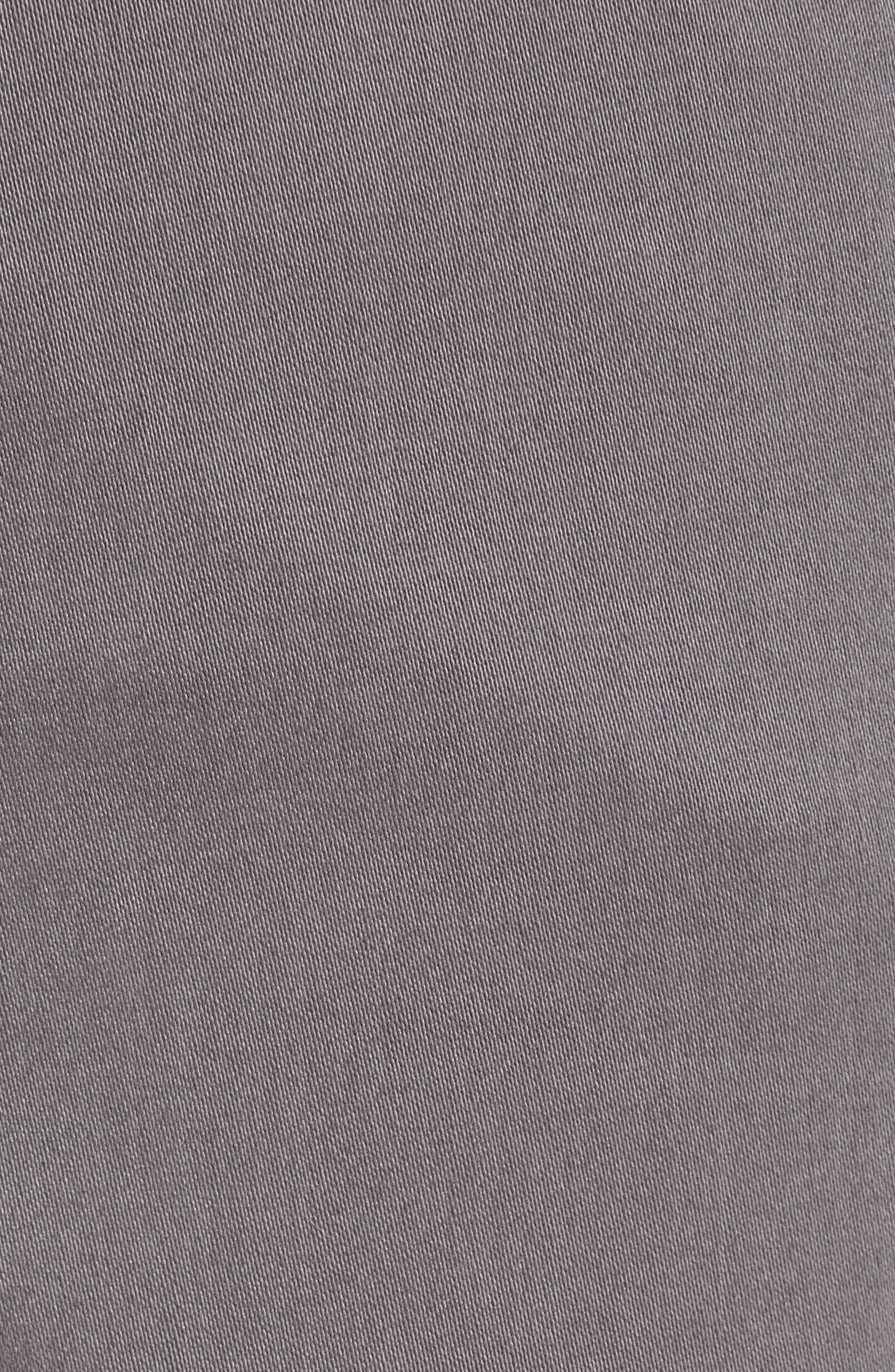 BRAX,                             Cooper Prestige Stretch Cotton Pants,                             Alternate thumbnail 5, color,                             GRAPHITE