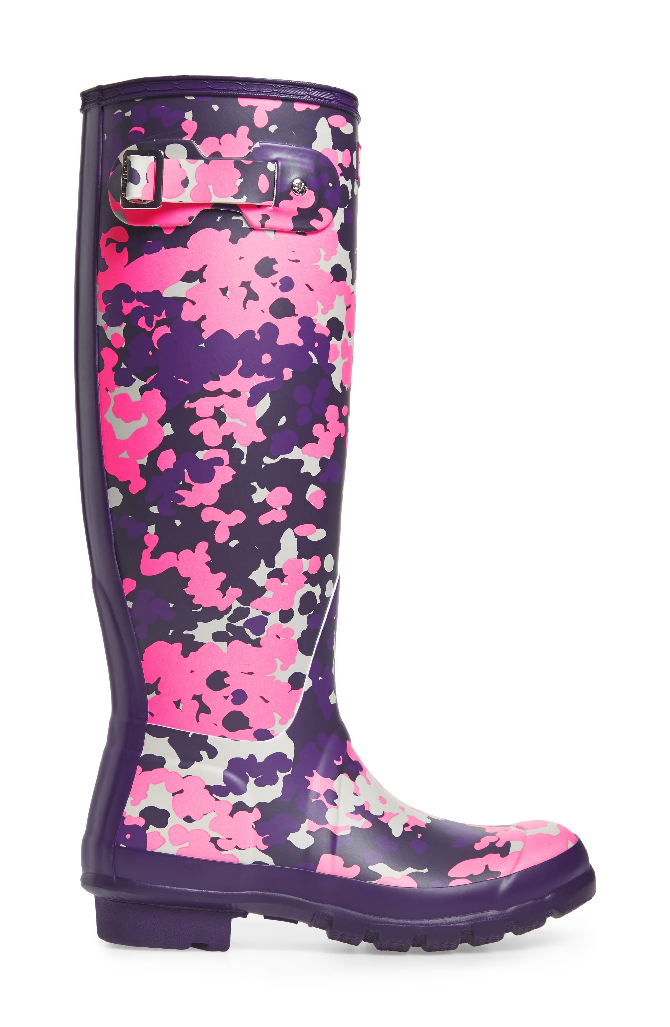 Original Tall - Flectarn Rain Boot,                             Alternate thumbnail 3, color,                             652