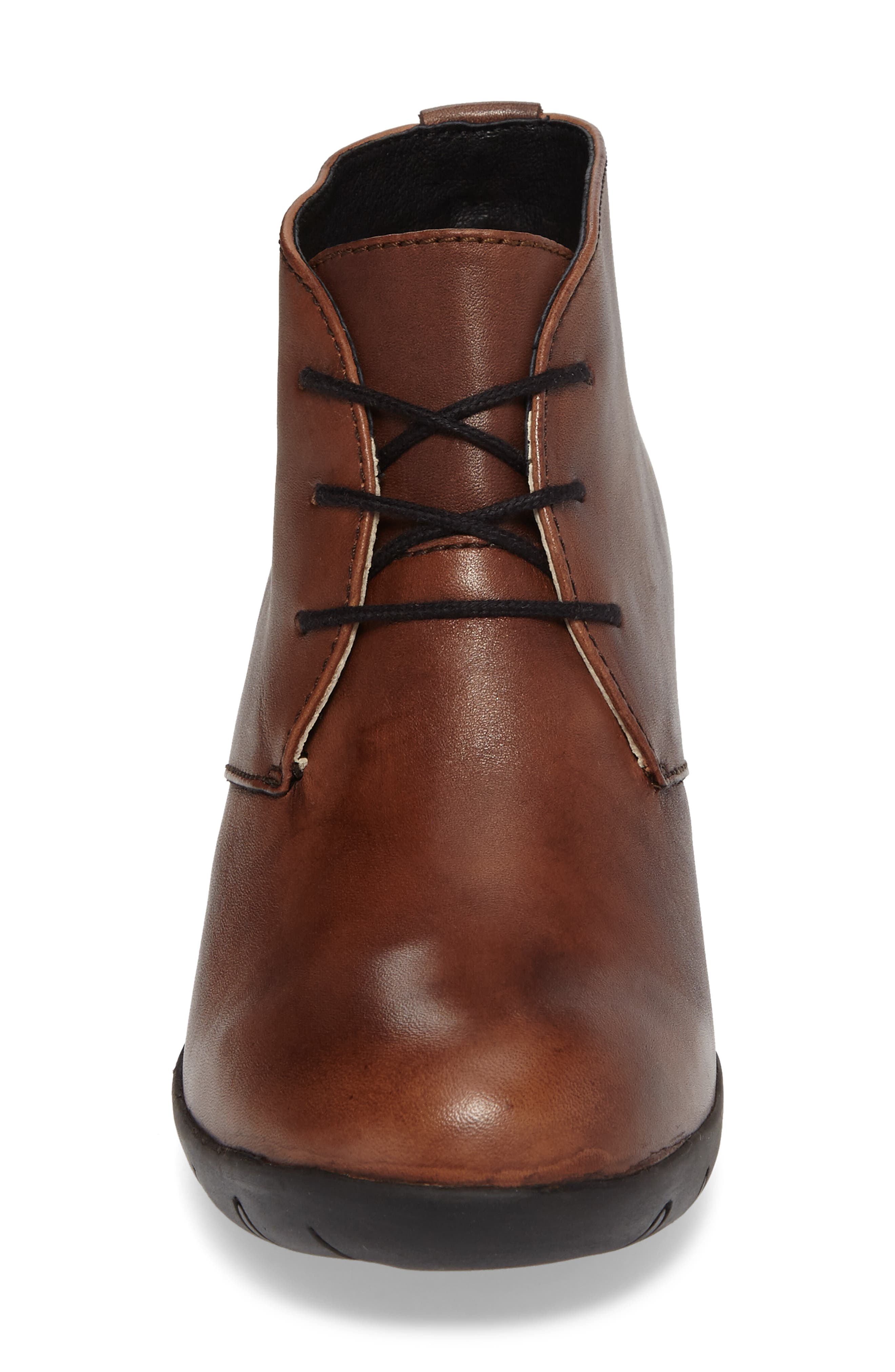 Bighorn Bootie,                             Alternate thumbnail 4, color,                             COGNAC LEATHER