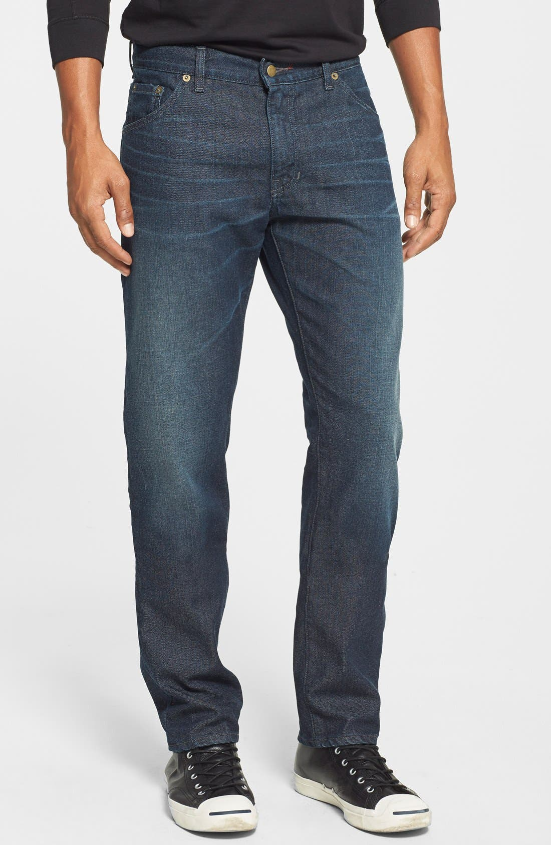 'Martin' Slim Fit Jeans,                             Main thumbnail 1, color,                             MASON