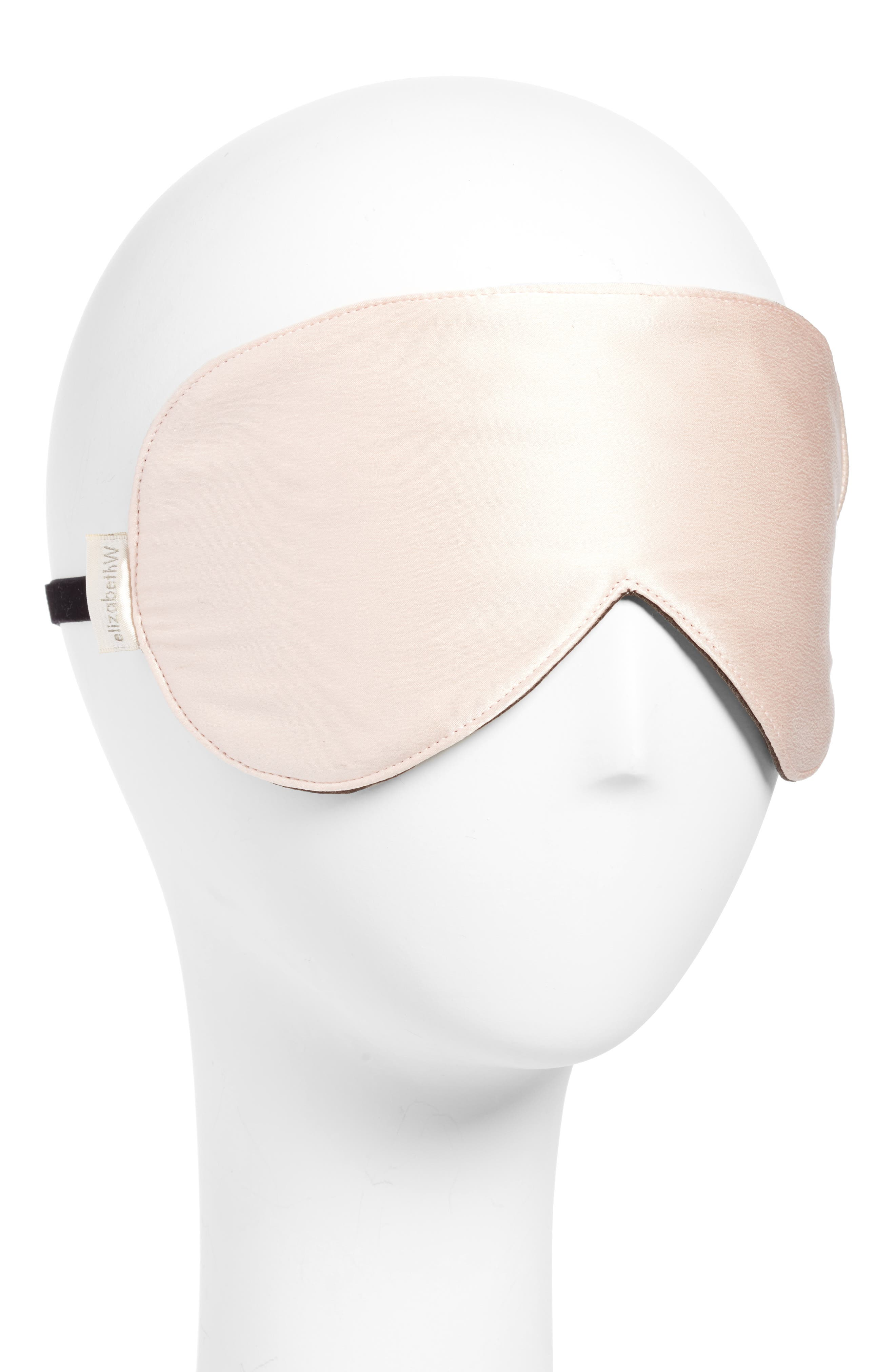 ELIZABETHW Silk Sleep Mask, Main, color, 650