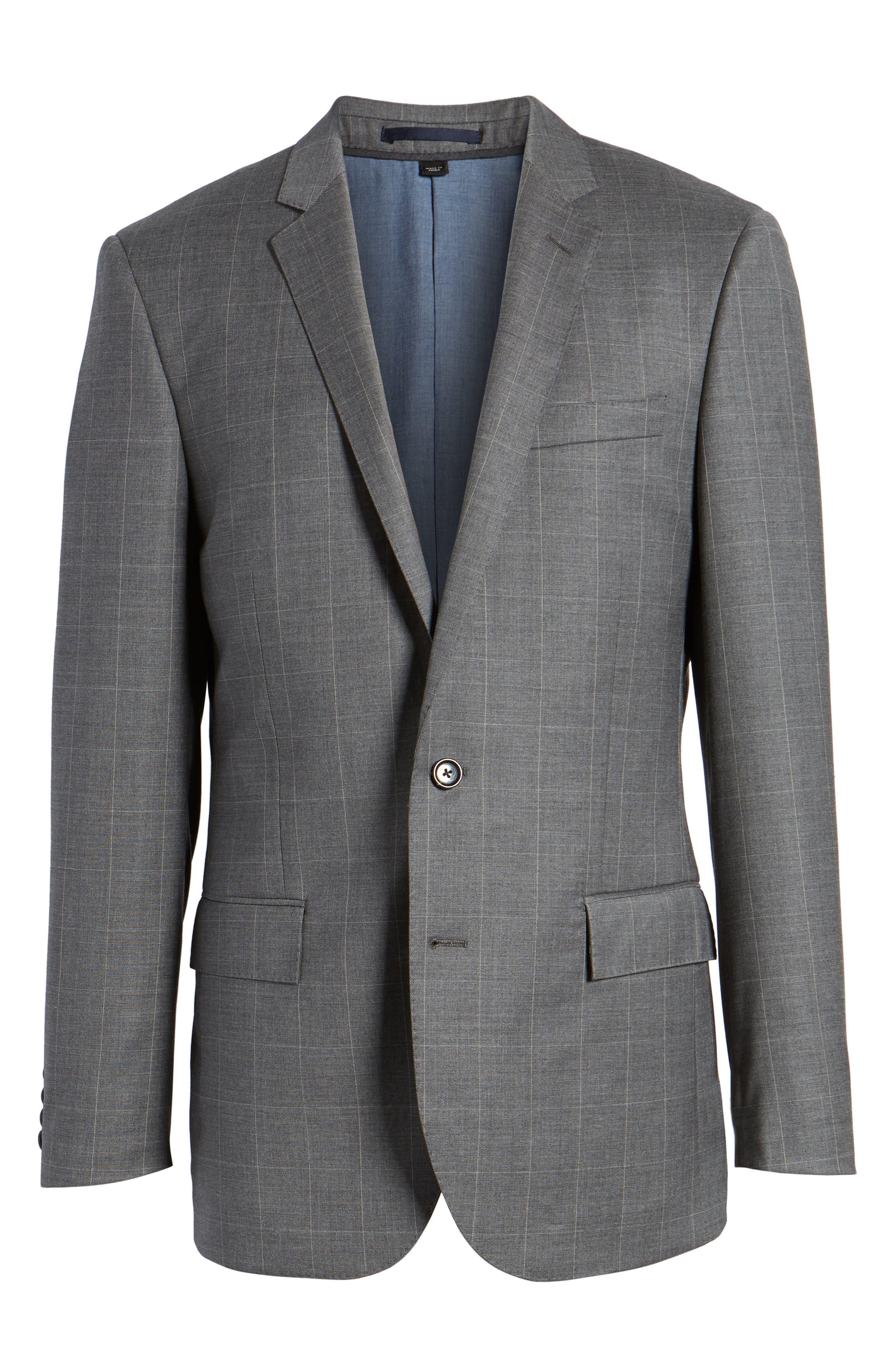 Ludlow Wool Blend Sport Coat,                             Alternate thumbnail 5, color,                             029