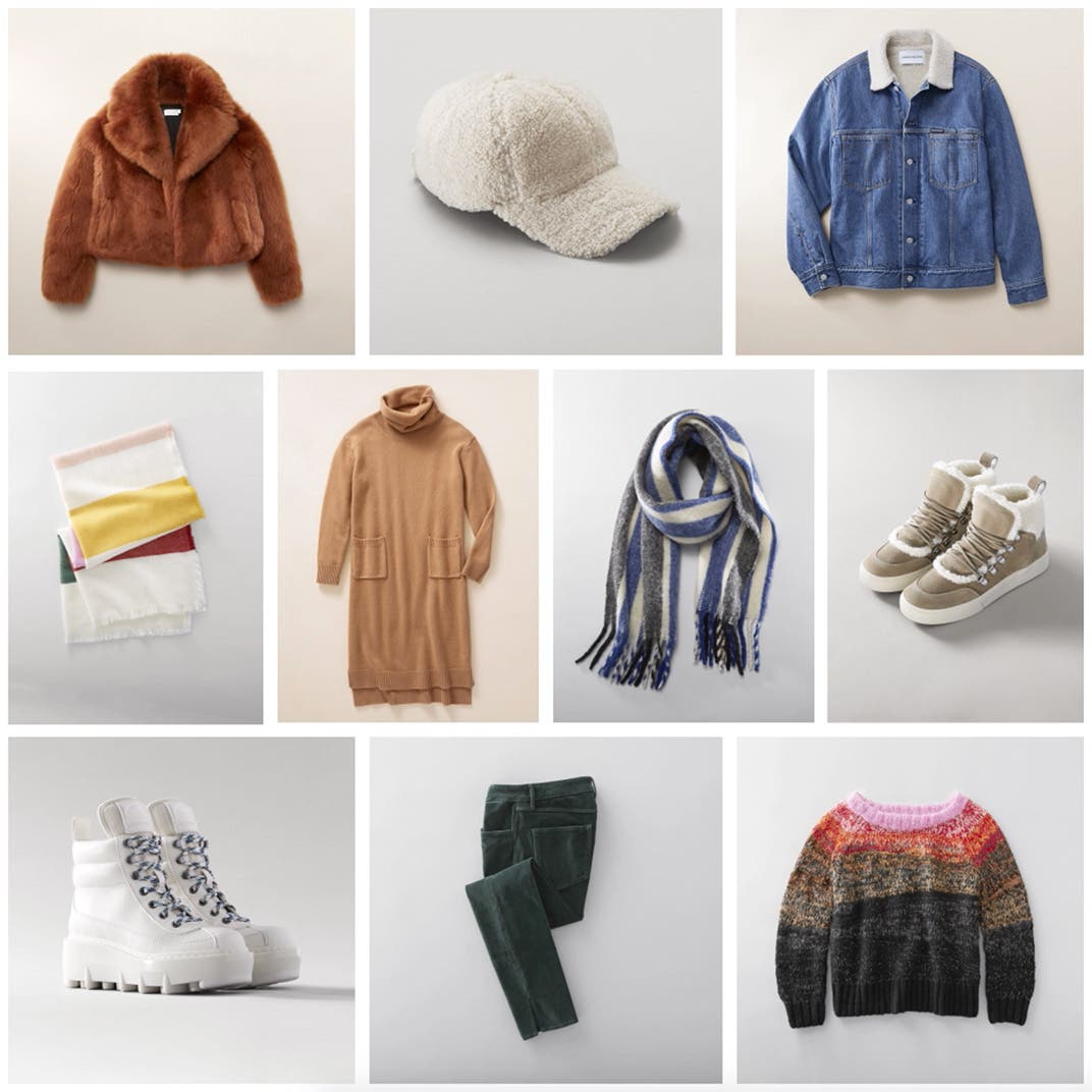 Essential weekend clothing, shoes and accessories for women.