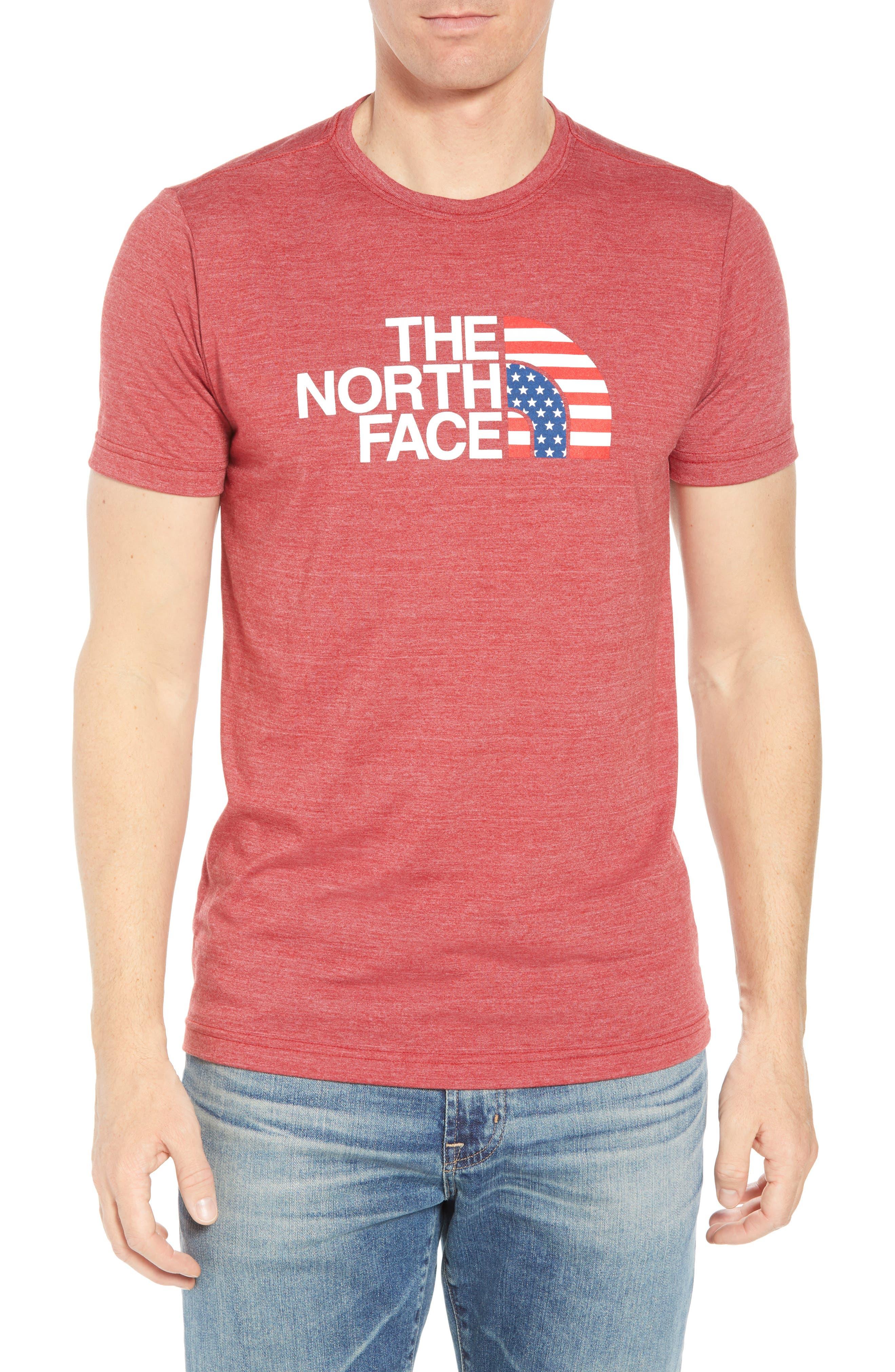 Americana Crewneck T-Shirt,                             Main thumbnail 4, color,