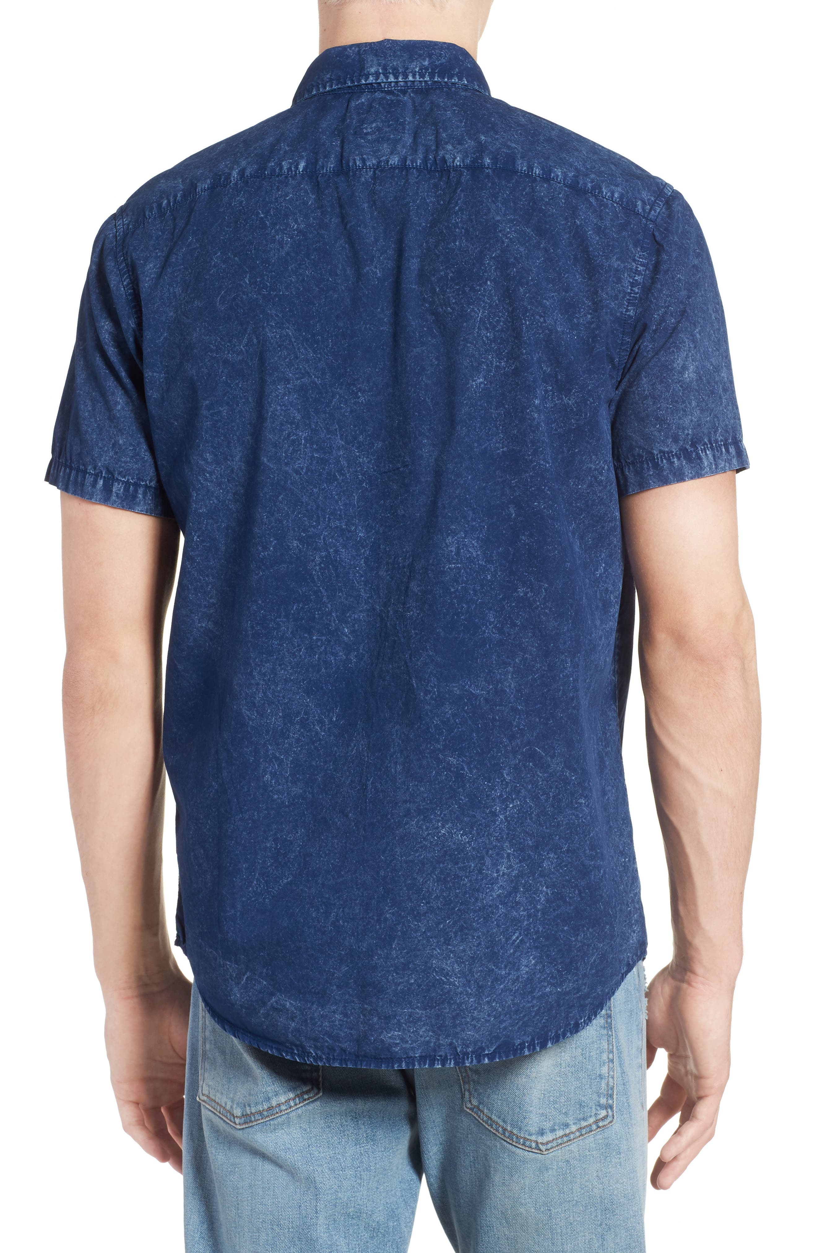 Acid Rain Denim Shirt,                             Alternate thumbnail 2, color,                             400
