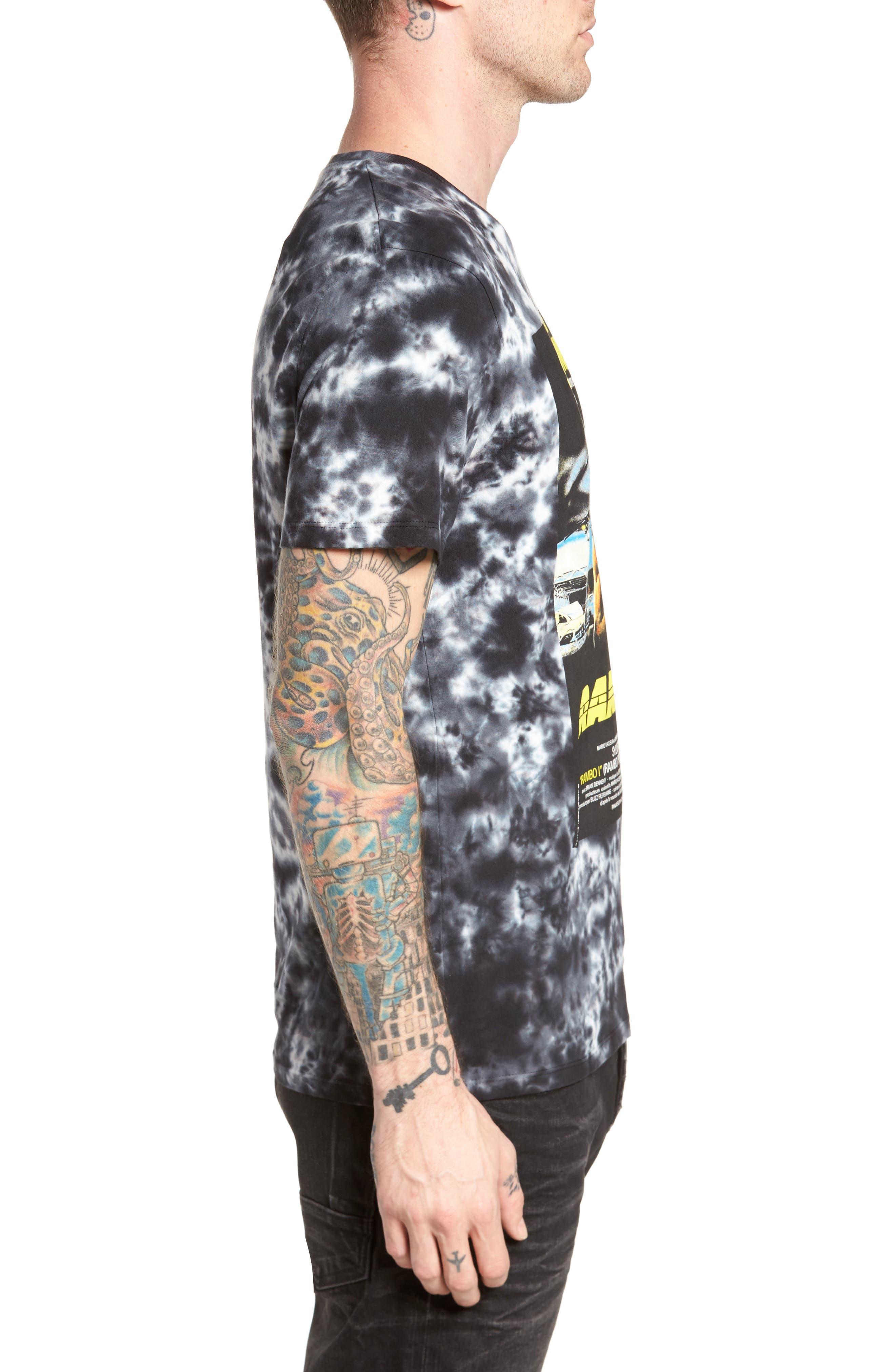 Rambo T-Shirt,                             Alternate thumbnail 3, color,