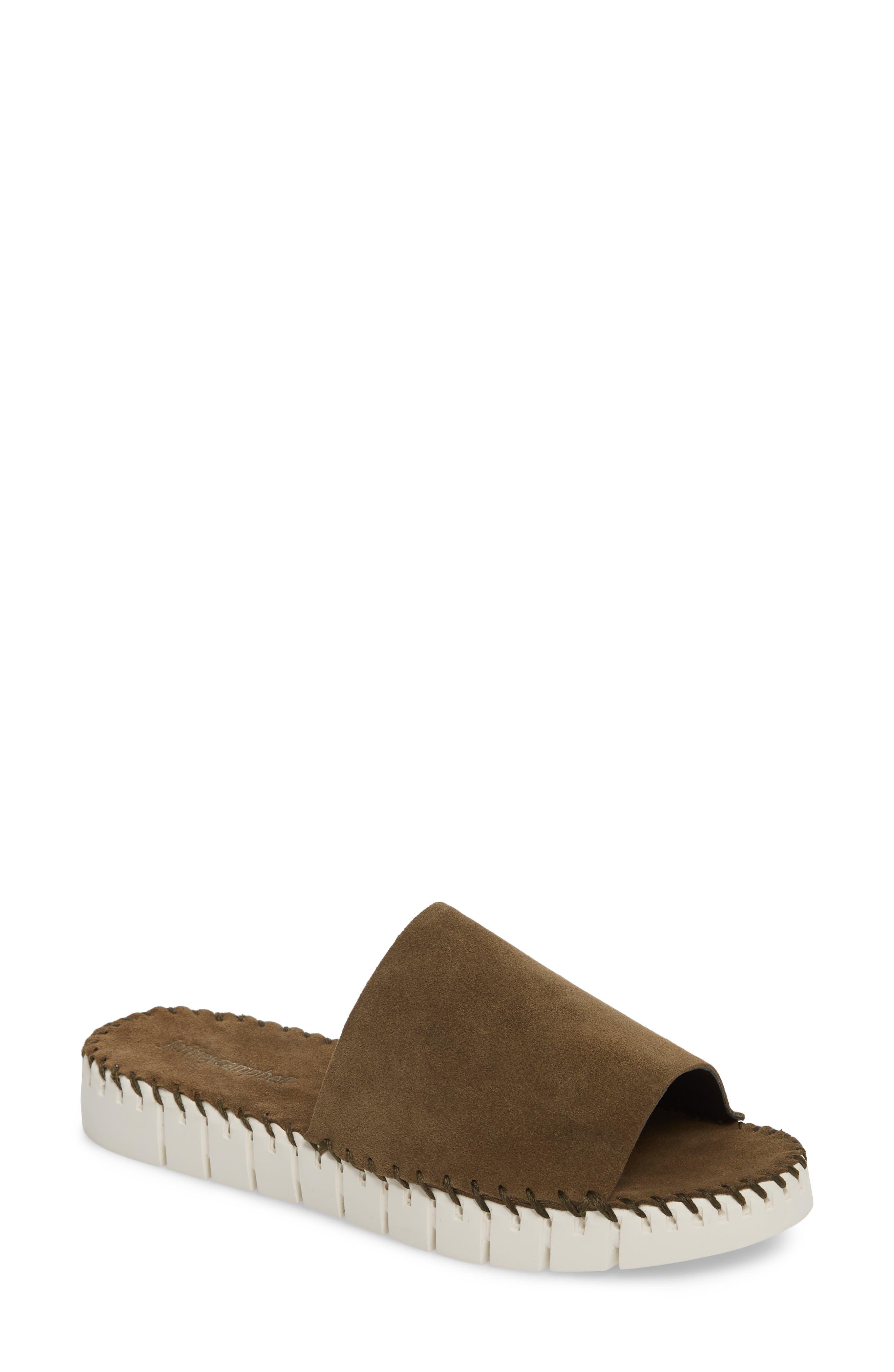 Pave Platform Slide Sandal,                             Main thumbnail 2, color,