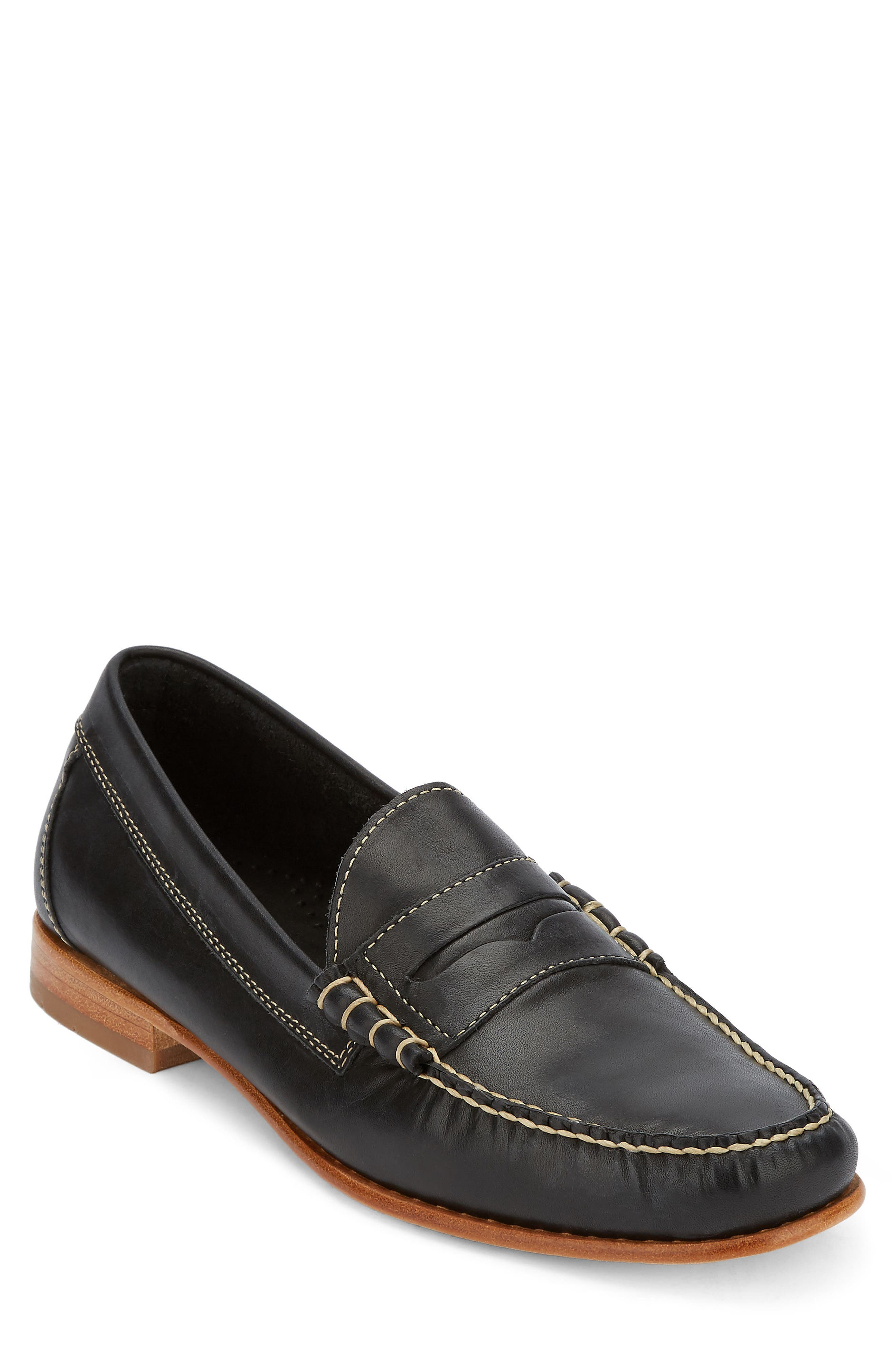 Weejuns Lambert Penny Loafer,                             Main thumbnail 1, color,                             001