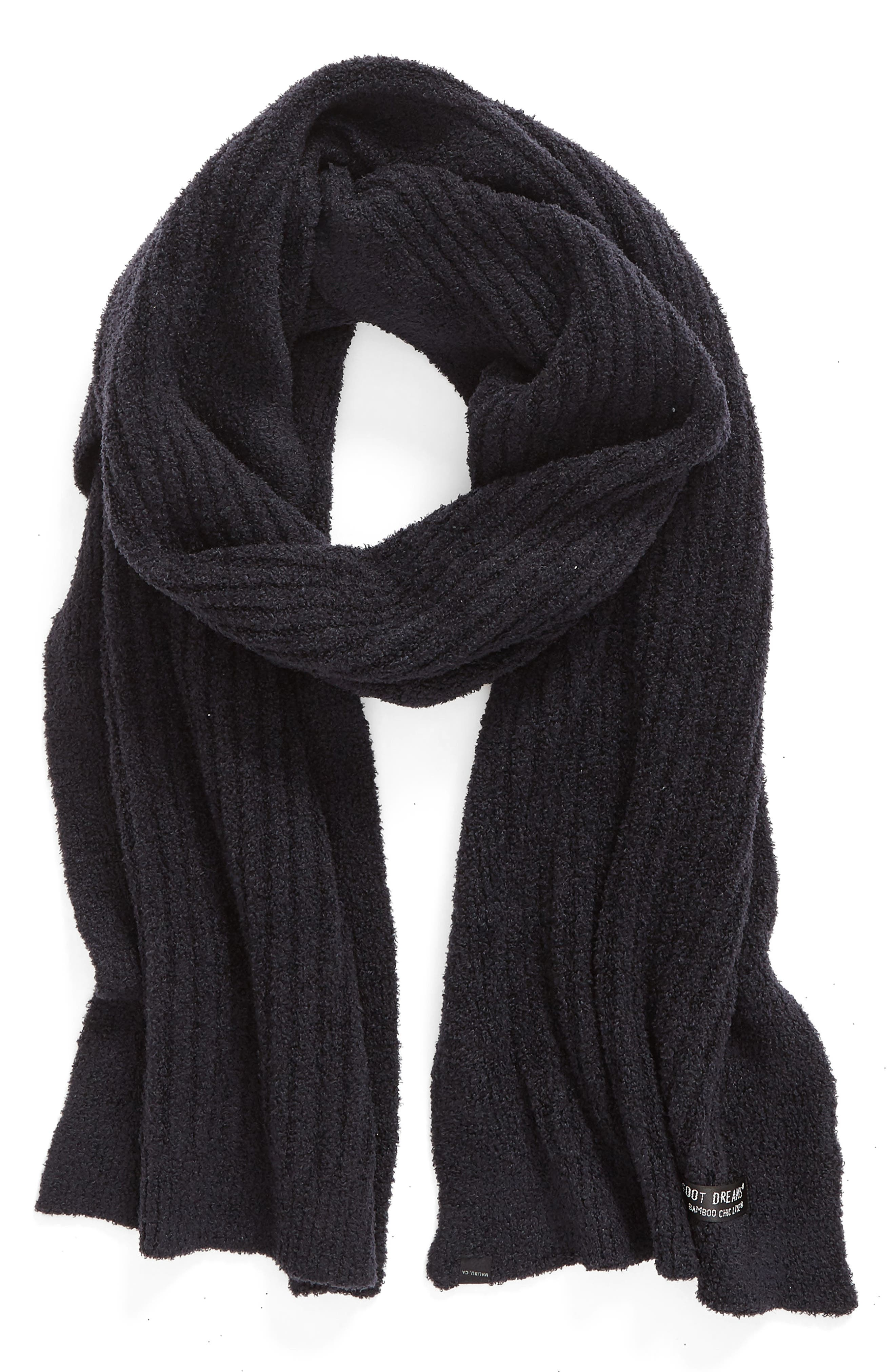 CozyChic Lite<sup>®</sup> Ribbed Scarf,                             Main thumbnail 1, color,                             001