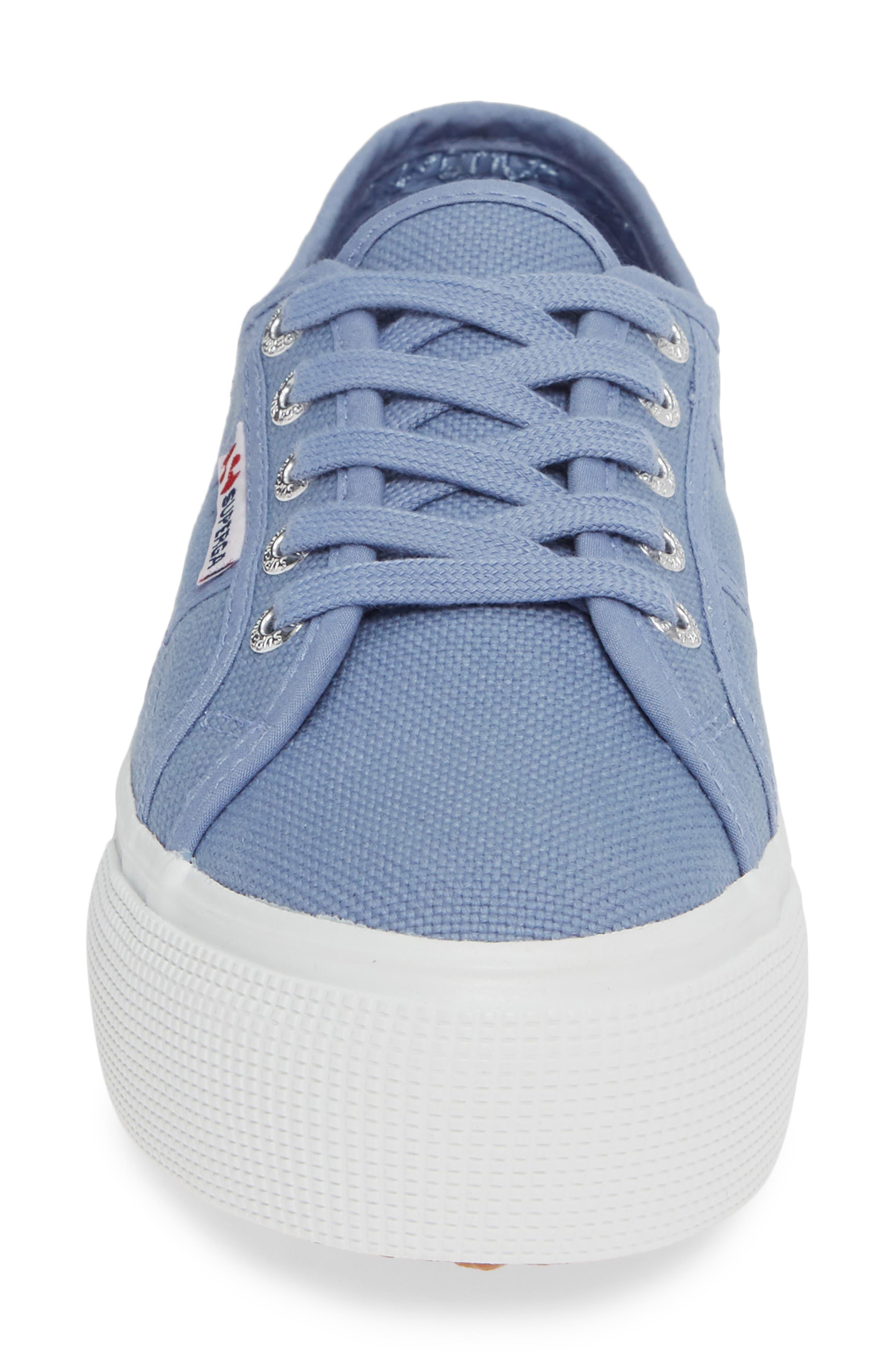 'Acot Linea' Sneaker,                             Alternate thumbnail 4, color,                             BLUE/ LIGHT PURPLE