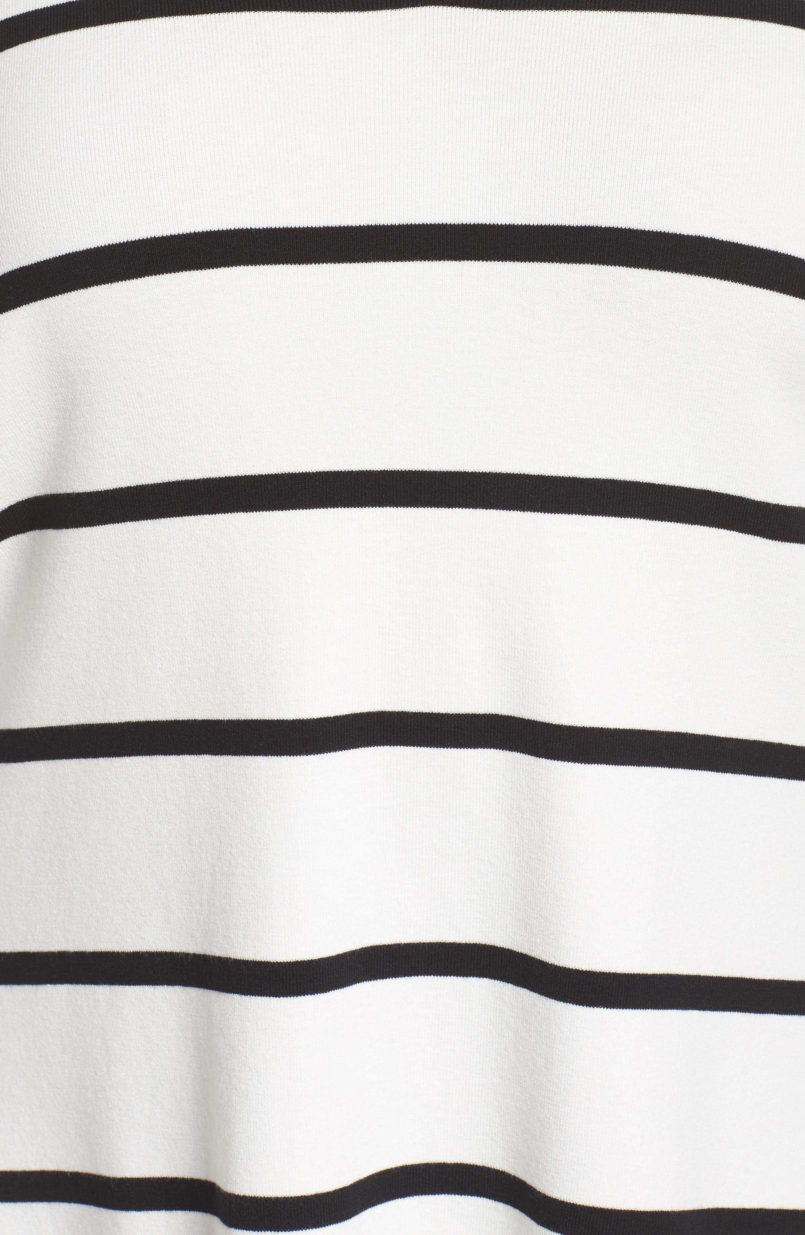 Stripe Sweater,                             Alternate thumbnail 5, color,                             141