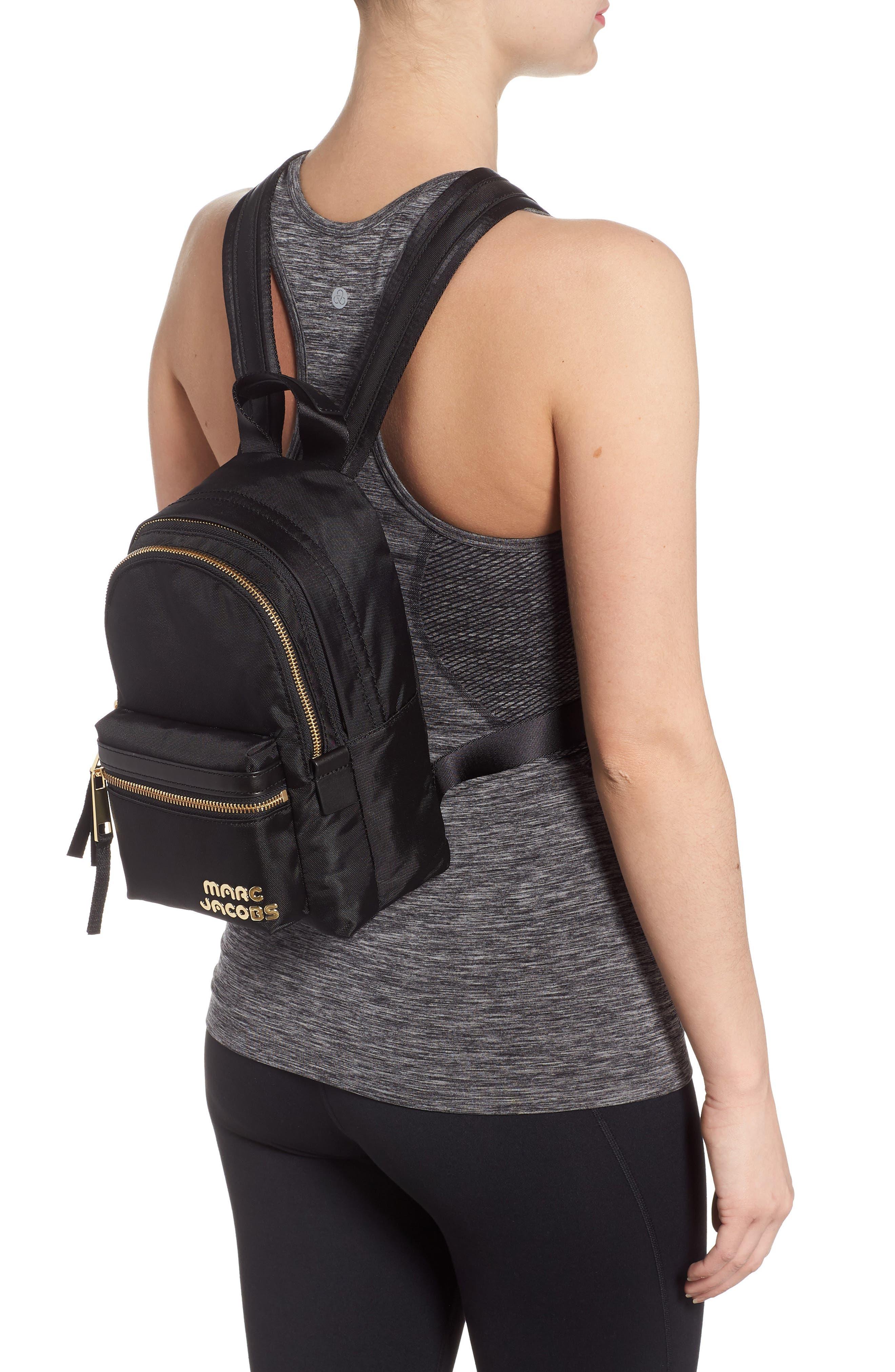 Mini Trek Nylon Backpack,                             Alternate thumbnail 2, color,                             001