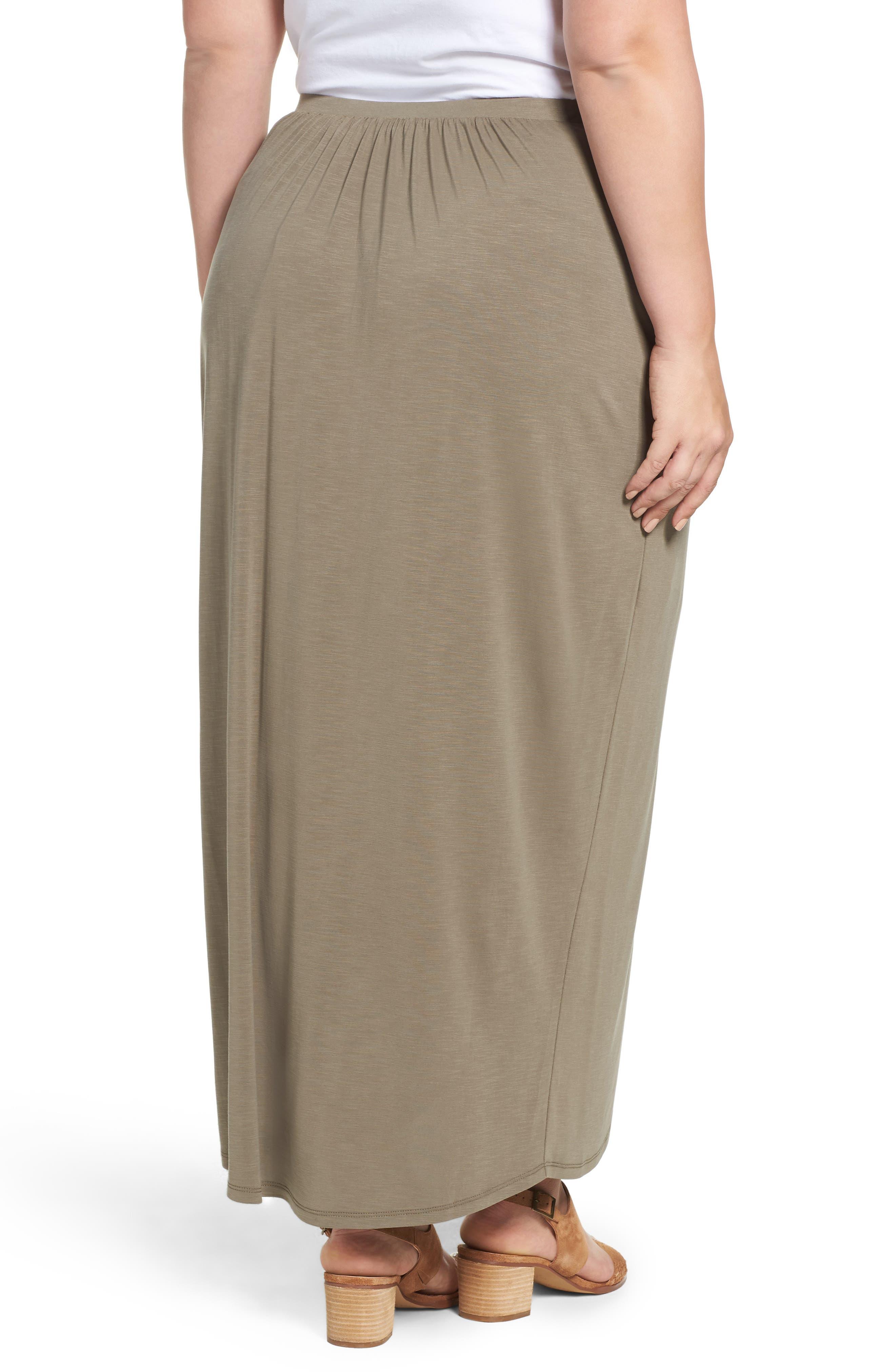 Boardwalk Knit Wrap Maxi Skirt,                             Alternate thumbnail 2, color,                             250