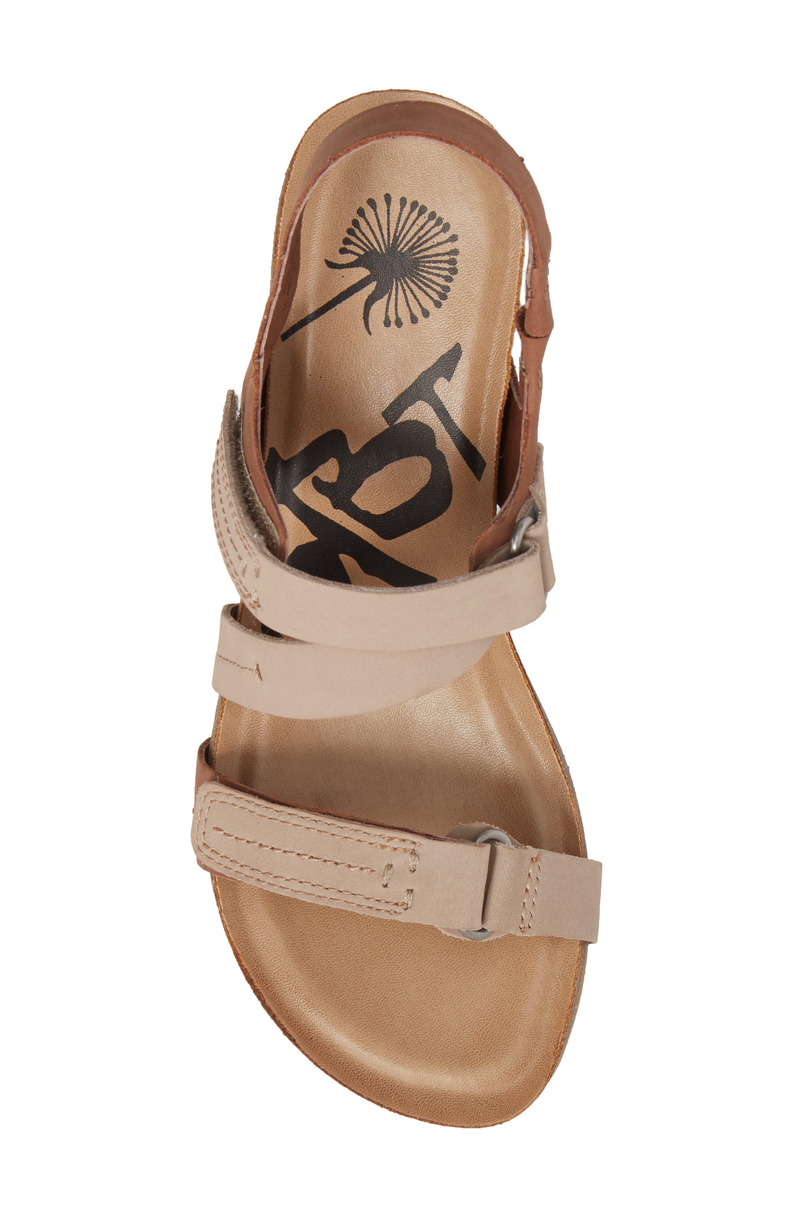 Wavey Wedge Sandal,                             Alternate thumbnail 5, color,                             214