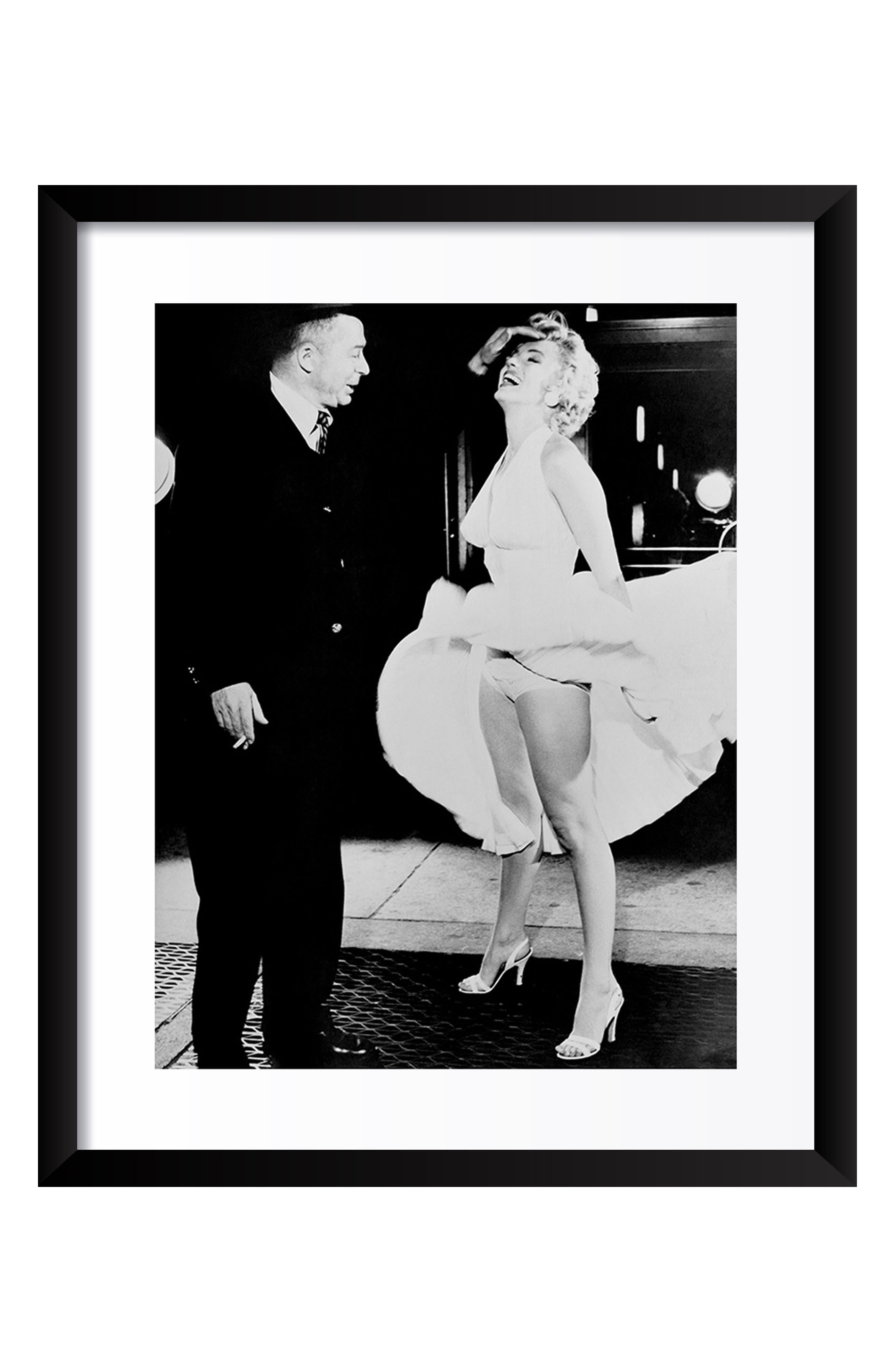 ARTOGRAPHY LIMITED Billy Wilder & Marilyn Monroe Fine Art Print, Main, color, 001