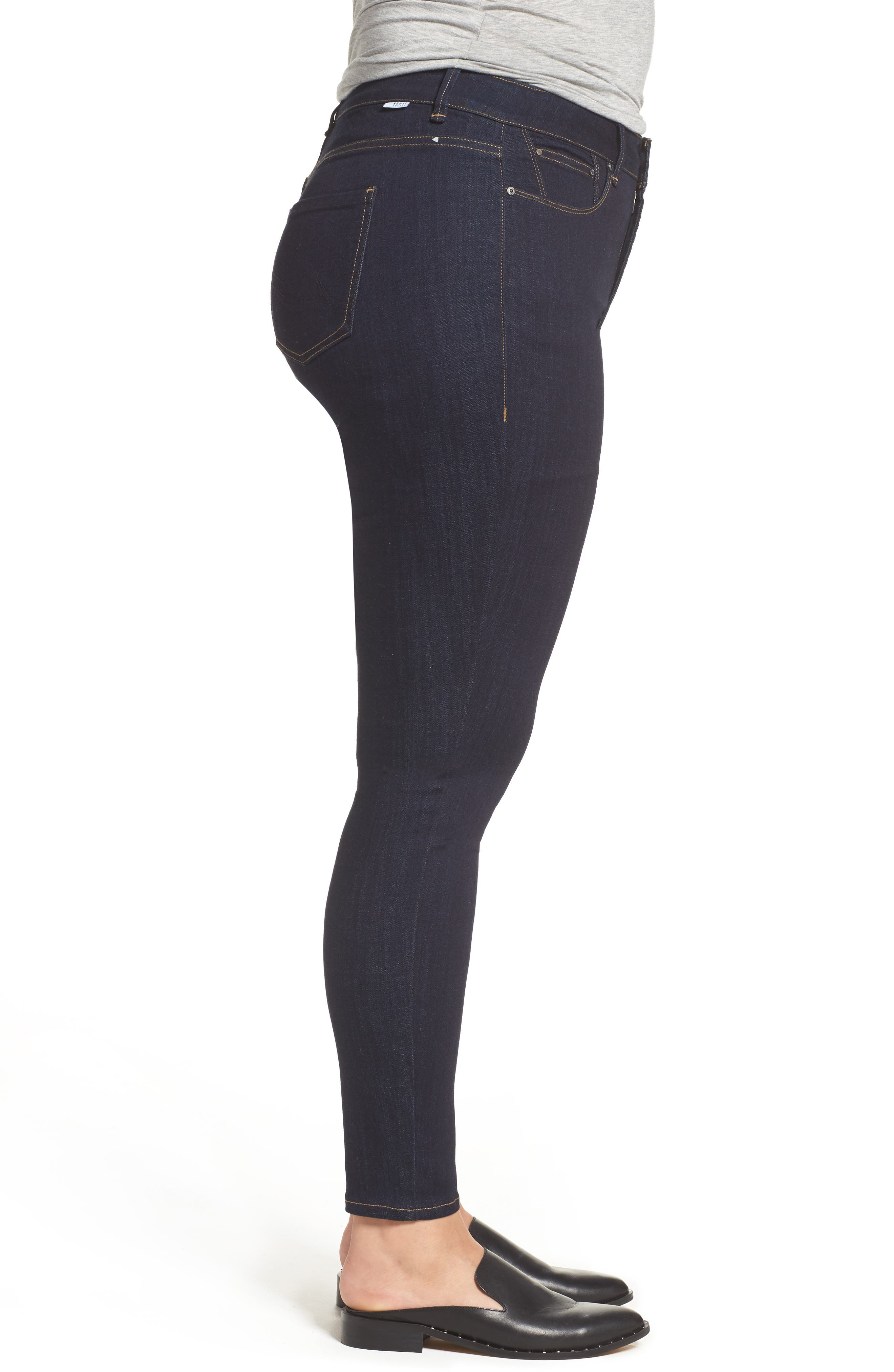 The Pin Up Super Skinny Jeans,                             Alternate thumbnail 15, color,