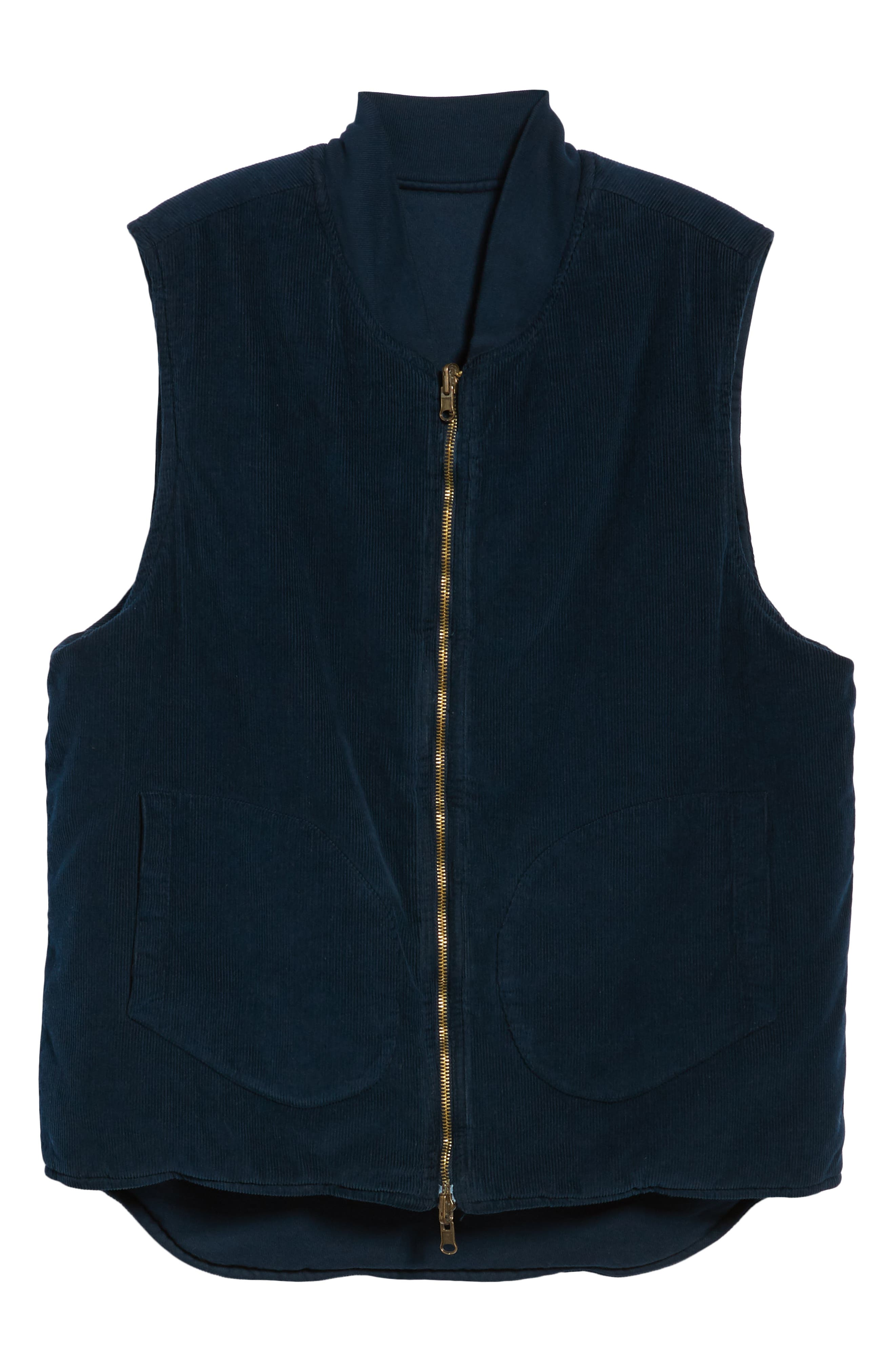 M.SINGER,                             Regular Fit Reversible Miner's Vest,                             Alternate thumbnail 7, color,                             400
