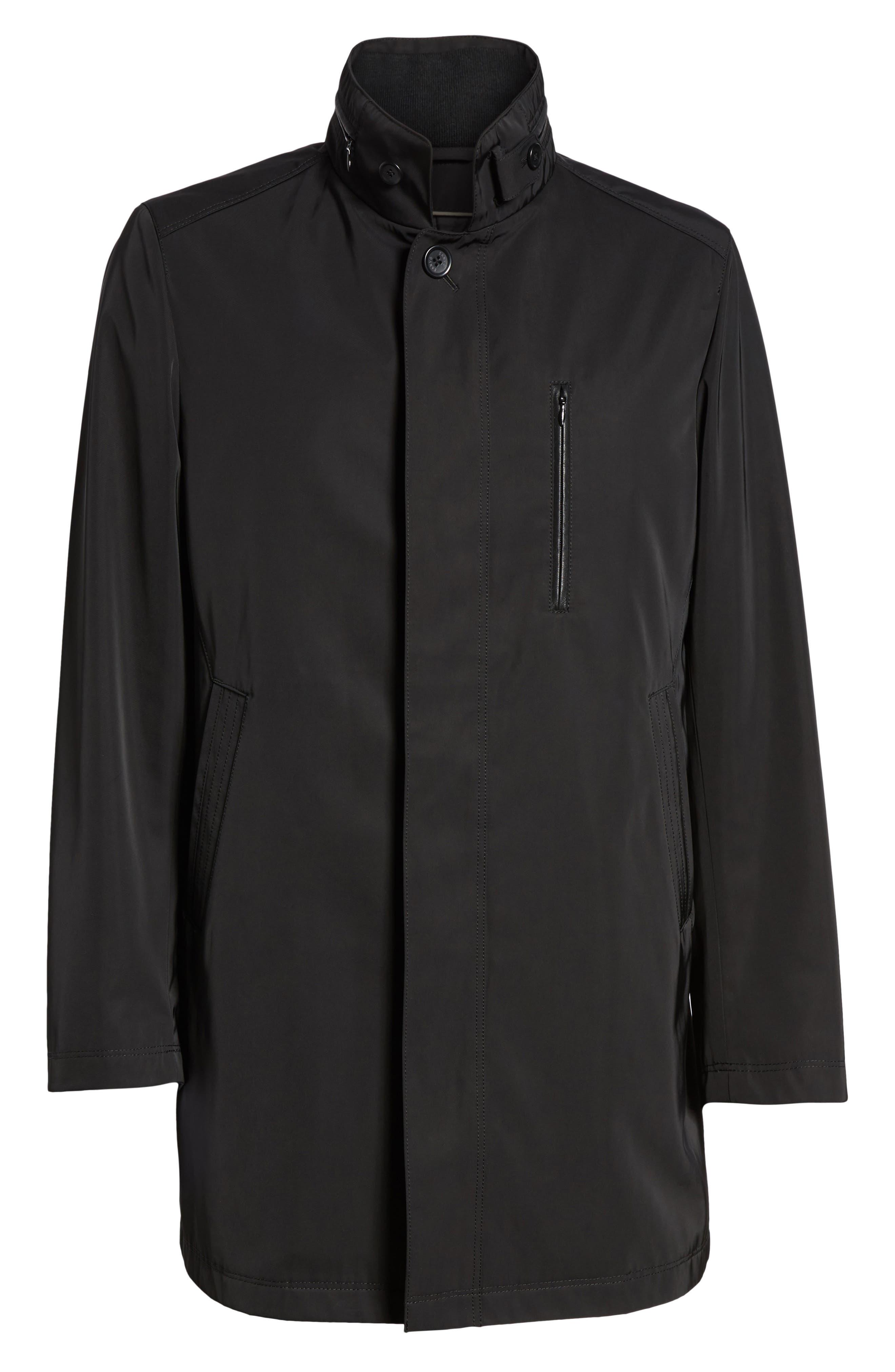 Hardy Getaway Raincoat,                             Alternate thumbnail 5, color,                             BLACK