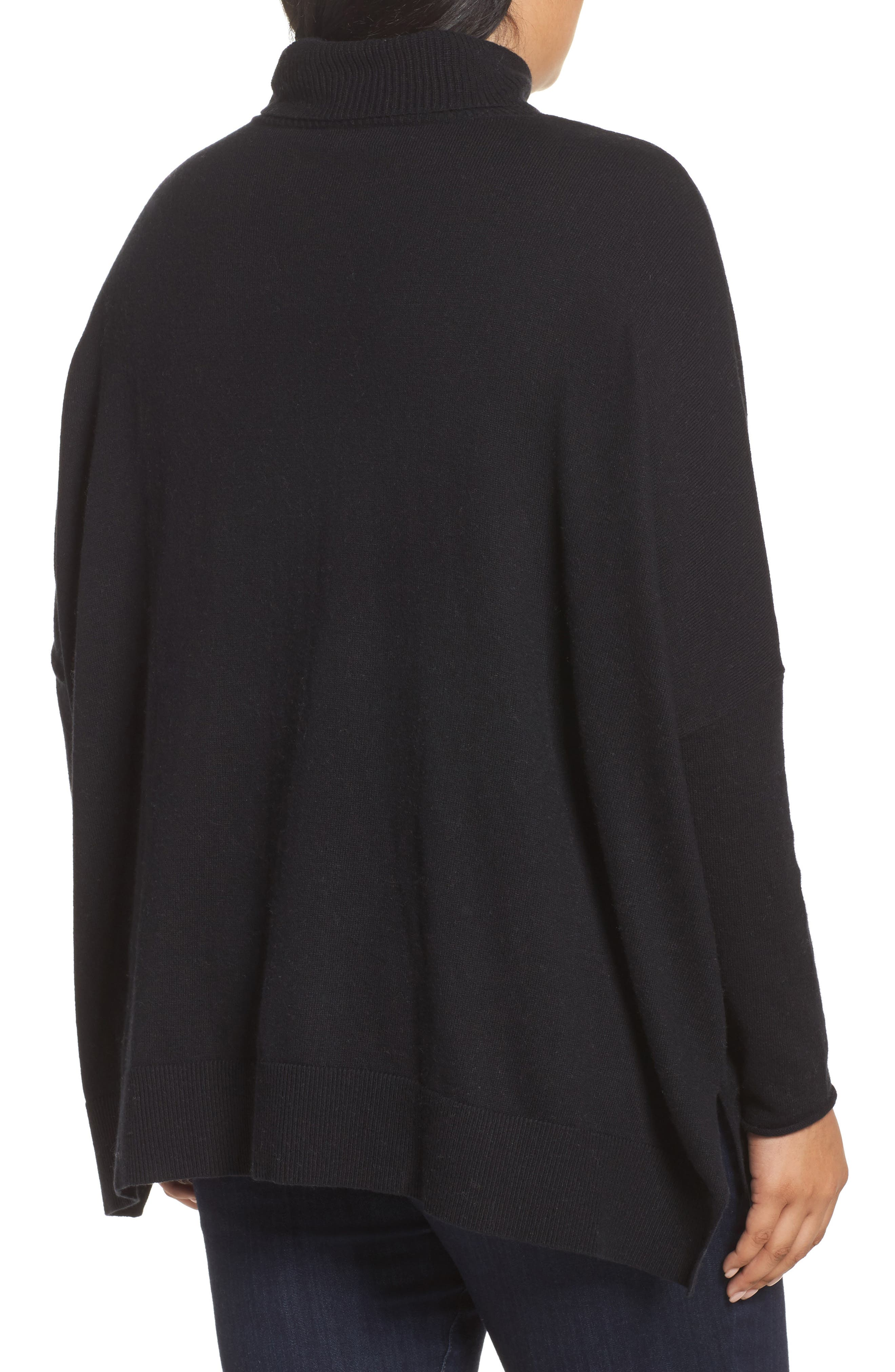 Relaxed Cotton & Cashmere Sweater,                             Alternate thumbnail 5, color,