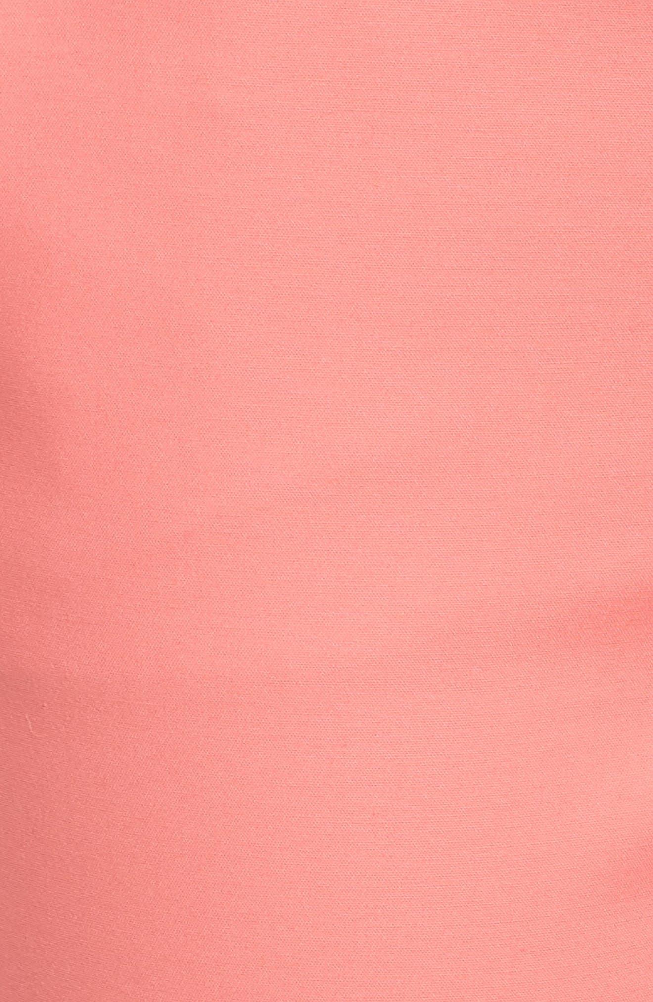 Crop Stretch Cotton Pants,                             Alternate thumbnail 108, color,