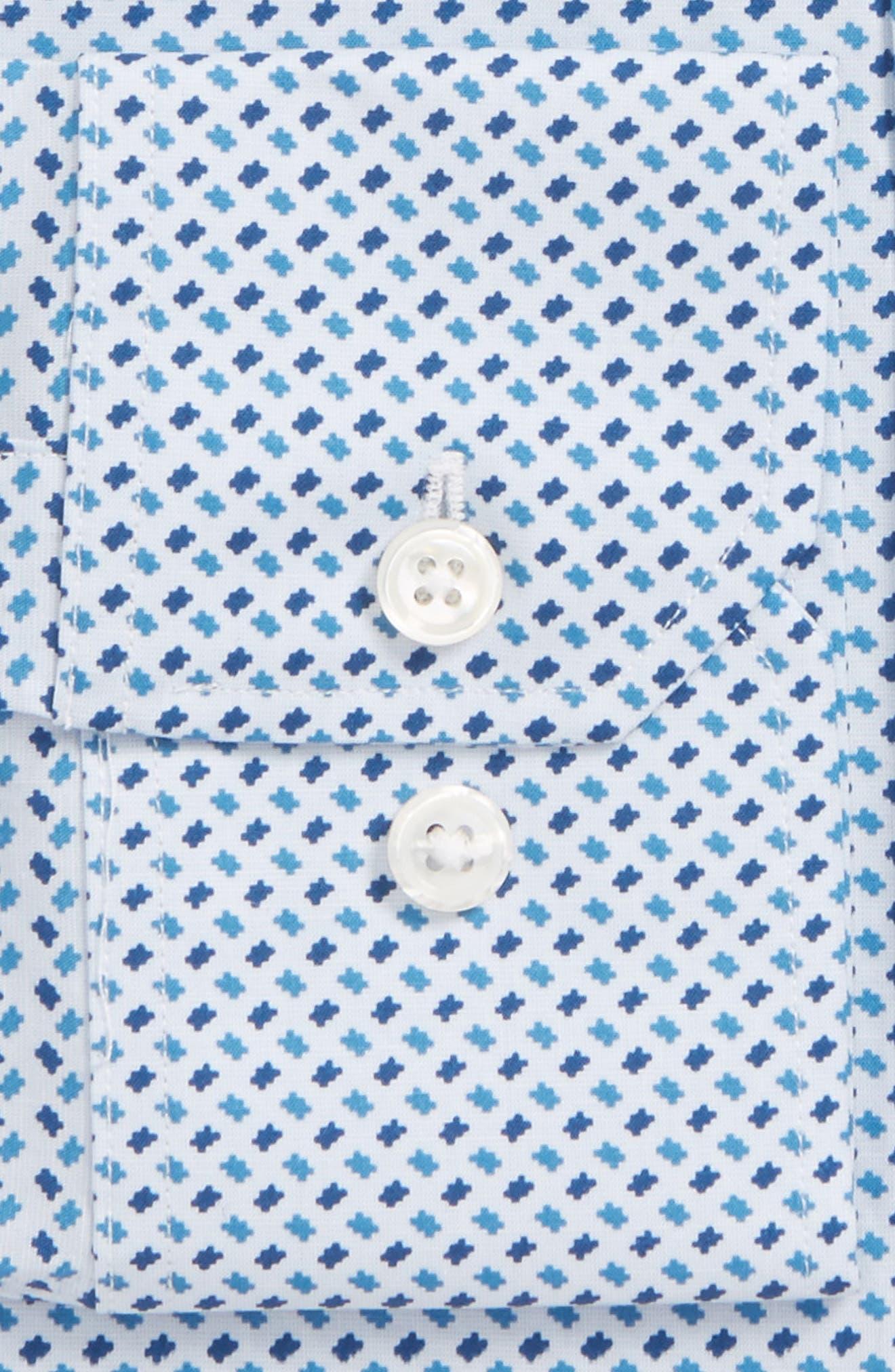 BONOBOS,                             Easton Slim Fit Geometric Print Dress Shirt,                             Alternate thumbnail 2, color,                             400