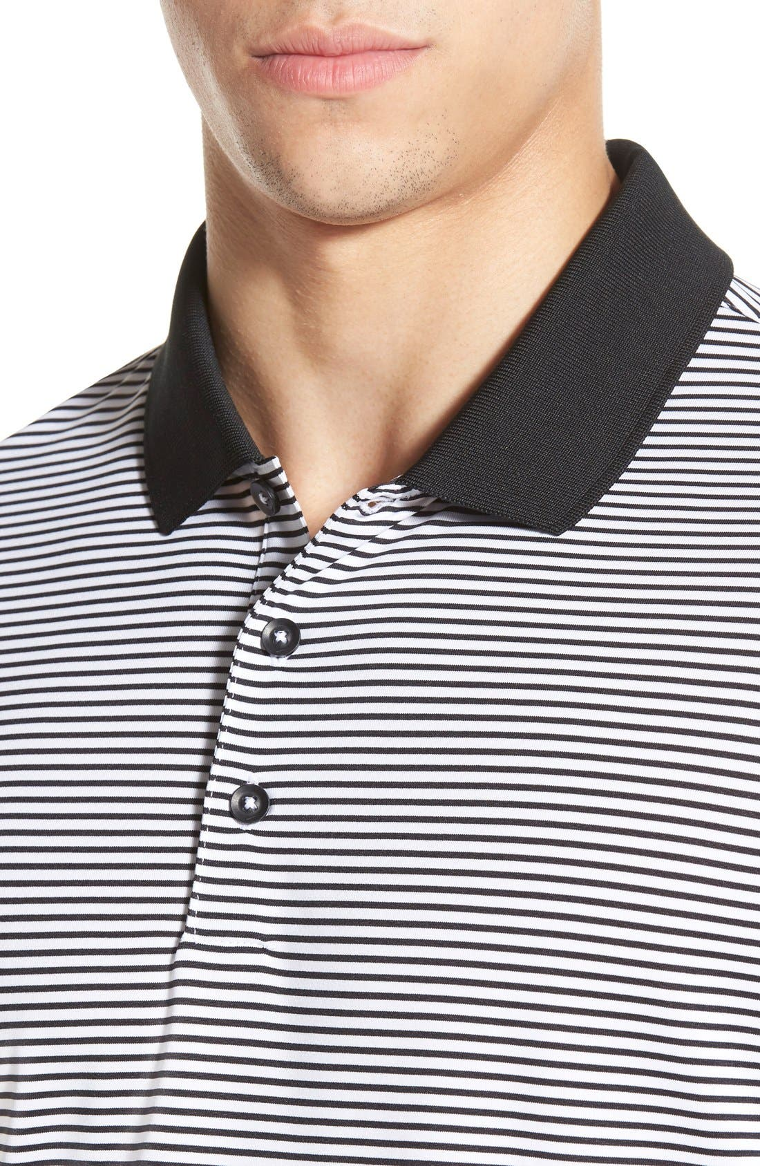 'Victory Stripe' Dri-FIT Golf Polo,                             Alternate thumbnail 37, color,