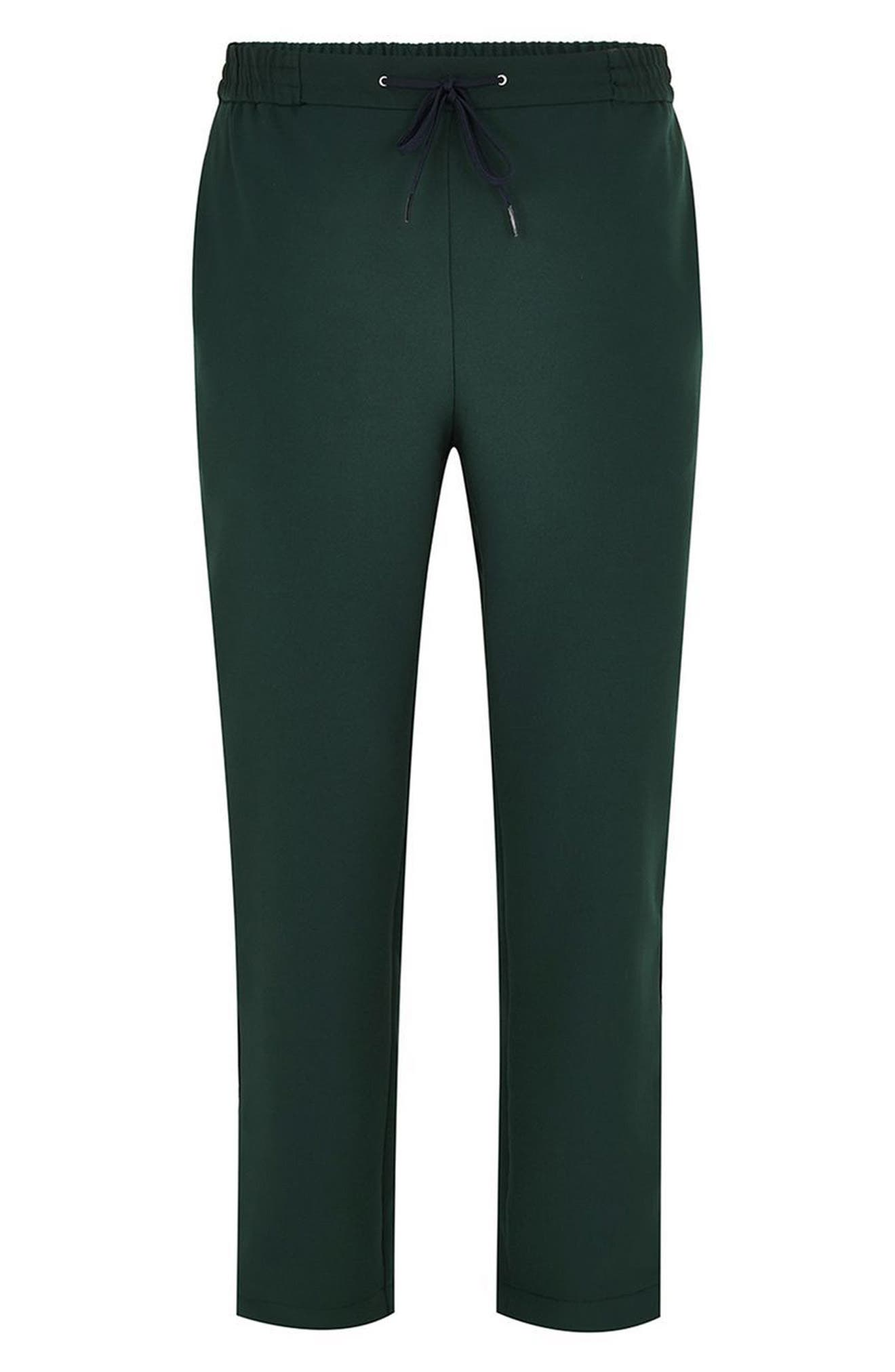 Slim Cropped Track Pants,                             Alternate thumbnail 4, color,                             300