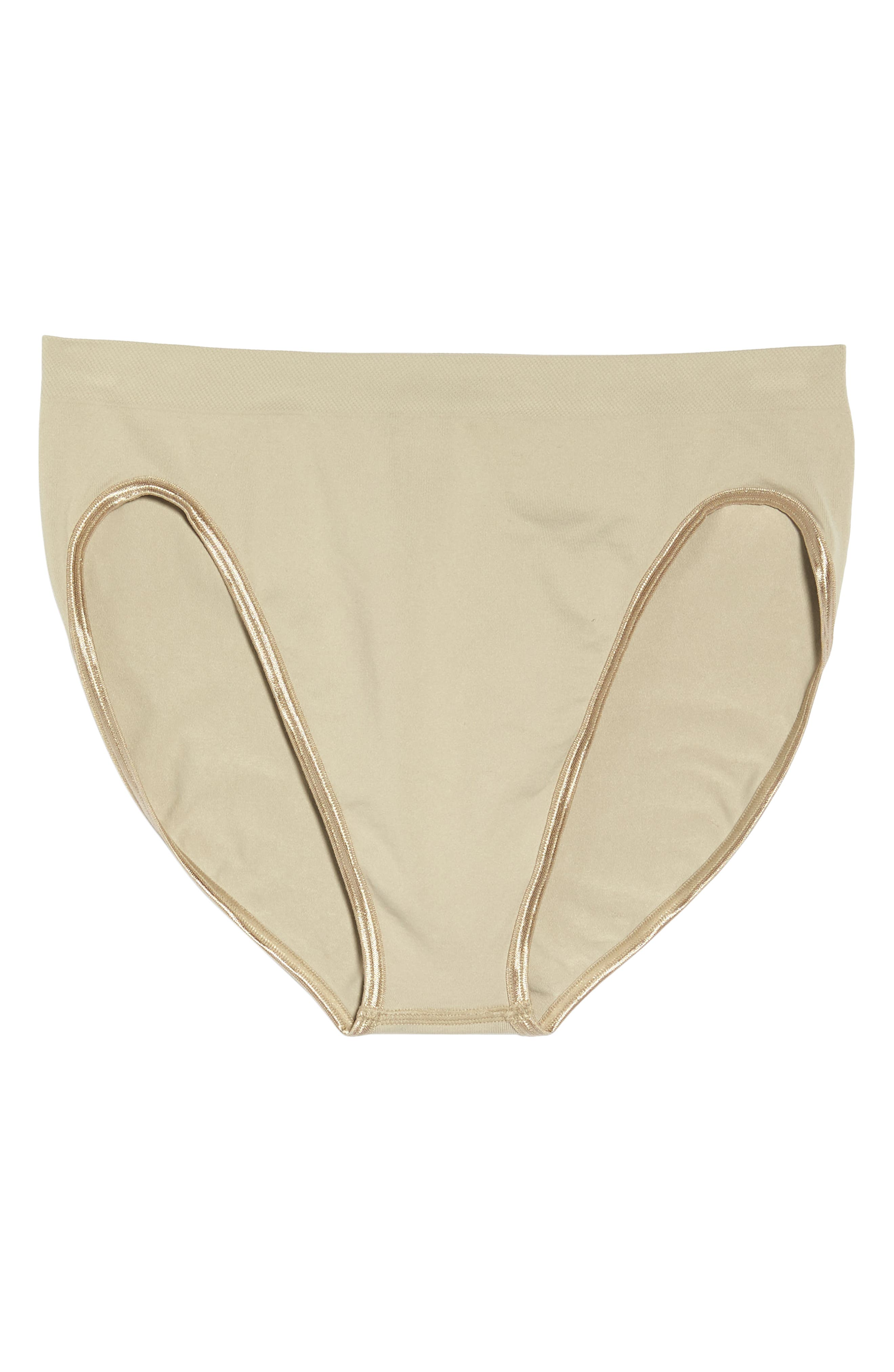 'Touch Feeling' High Cut Briefs,                             Alternate thumbnail 6, color,                             NATURAL STONE